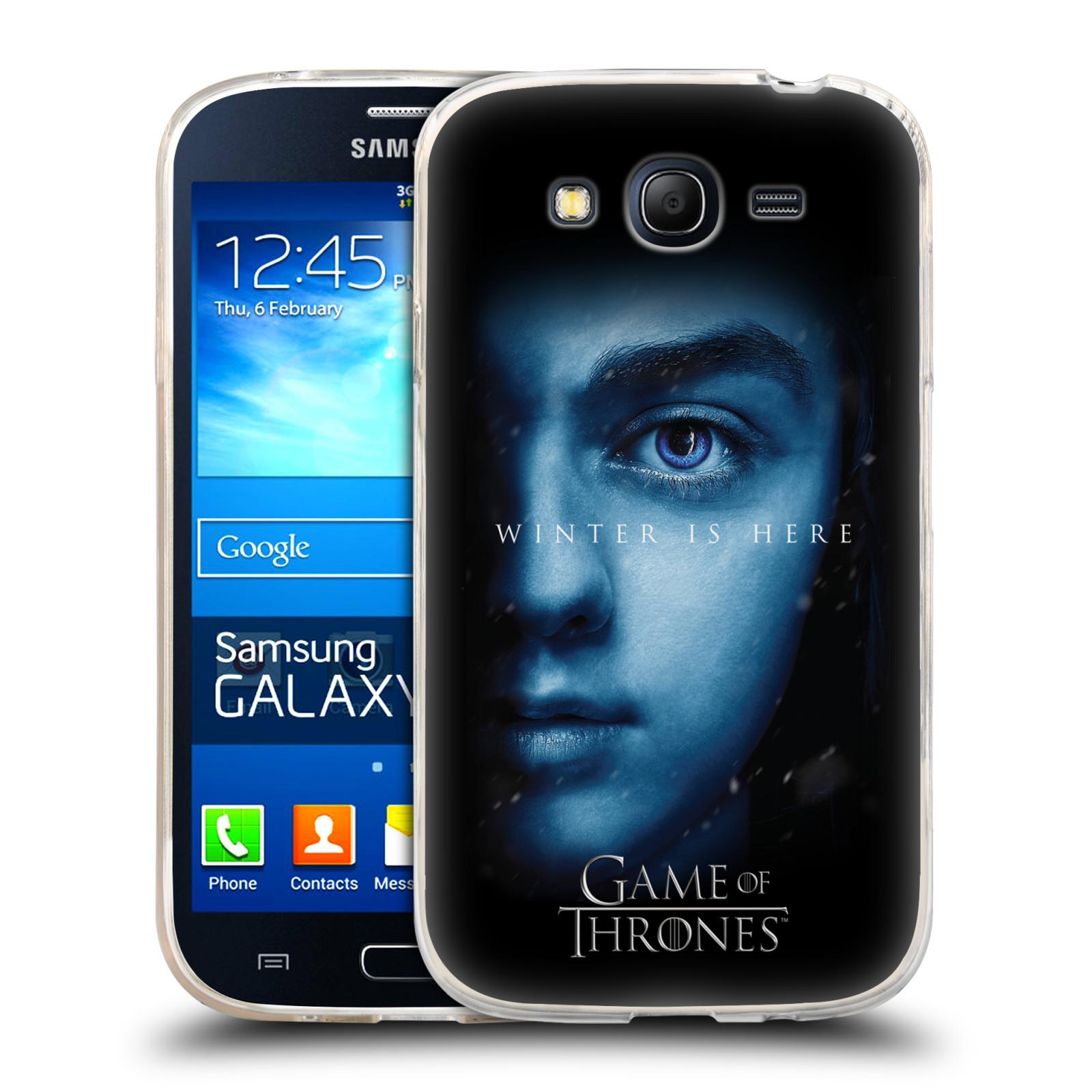 Silikonové pouzdro na mobil Samsung Galaxy Grand Neo Plus - Head Case - Hra o trůny - Arya Stark - Winter is here (Silikonový kryt či obal na mobilní telefon s motivem Game of Thrones - Arya Stark - Winter is here - Season 7 pro Samsung Galaxy Grand Neo P