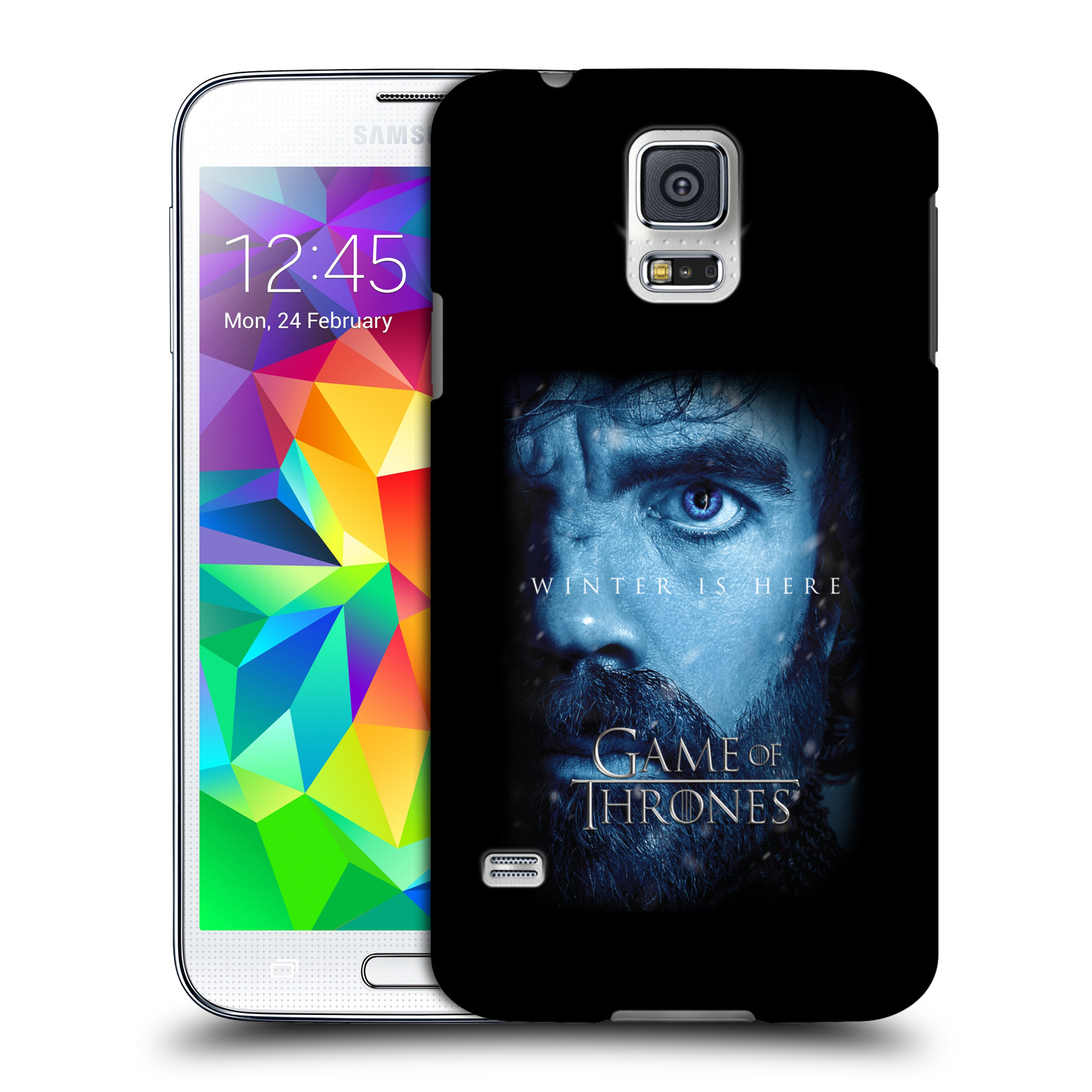 Plastové pouzdro na mobil Samsung Galaxy S5 Neo - Head Case - Hra o trůny - Tyrion Lannister - Winter is here