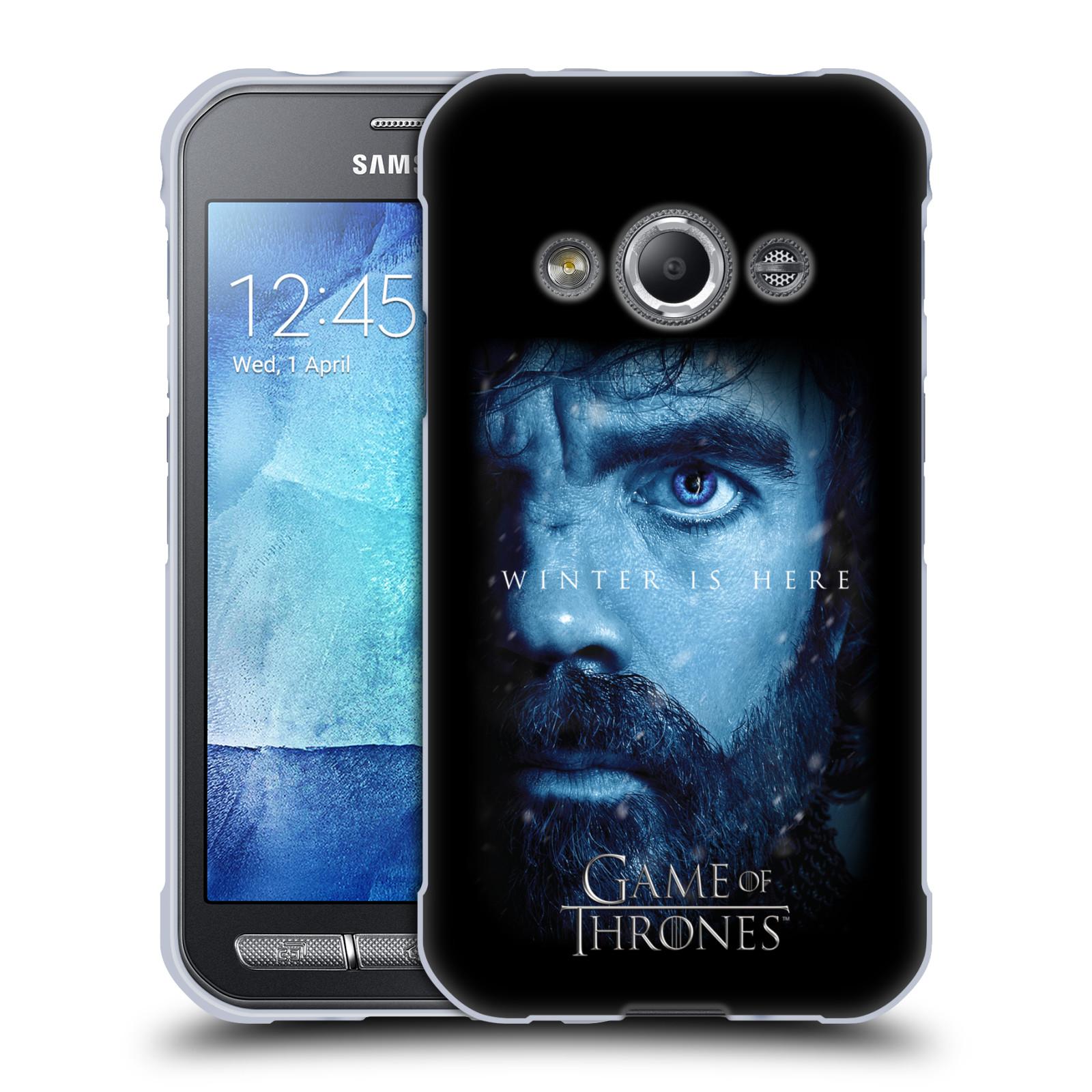 Silikonové pouzdro na mobil Samsung Galaxy Xcover 3 - Head Case - Hra o trůny - Tyrion Lannister - Winter is here (Silikonový kryt či obal na mobilní telefon s motivem Game of Thrones - Tyrion Lannister - Winter is here - Season 7 pro Samsung Galaxy Xcove