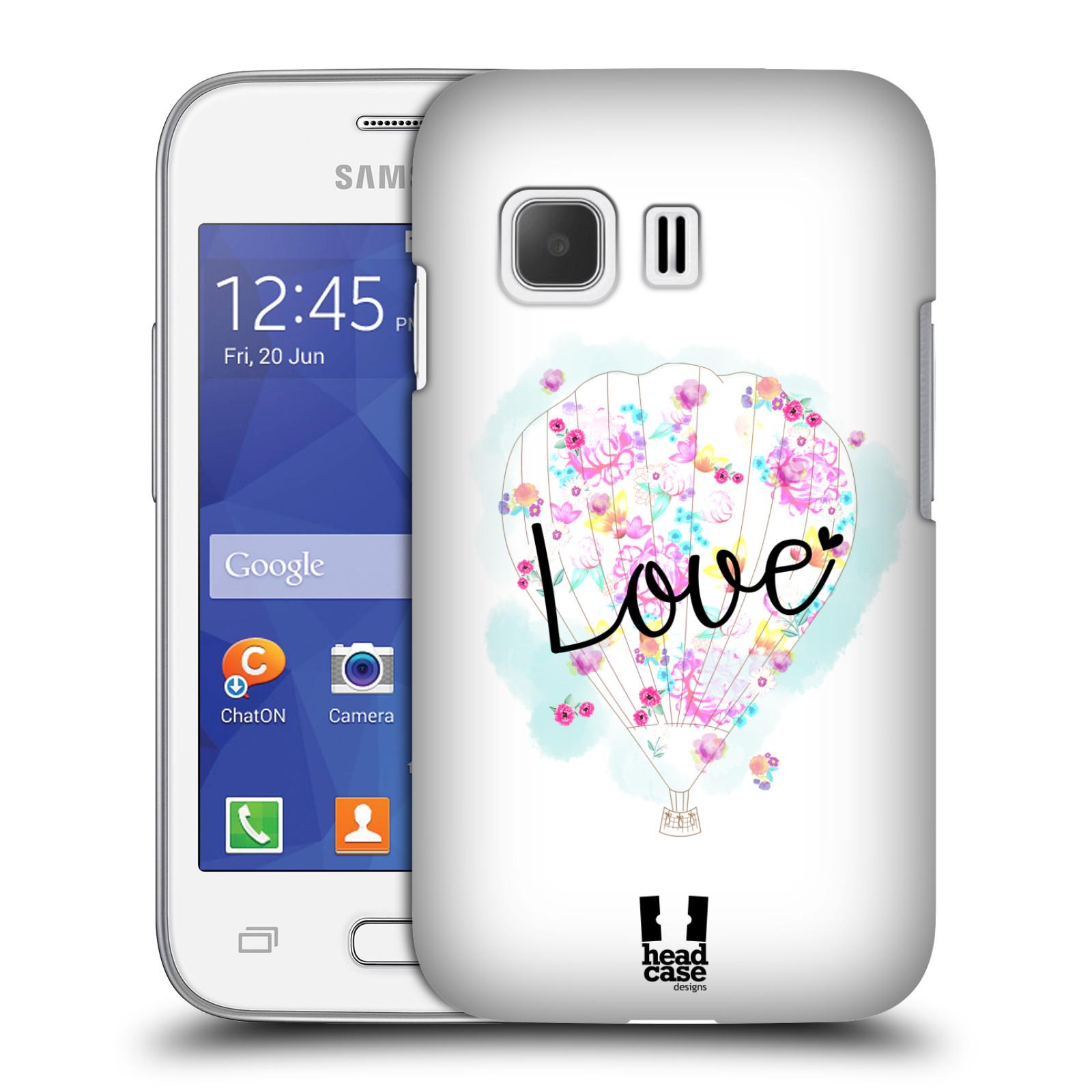 Plastové pouzdro na mobil Samsung Galaxy Young 2 HEAD CASE Balón Love (Plastový kryt či obal na mobilní telefon Samsung Galaxy Young 2 SM-G130)