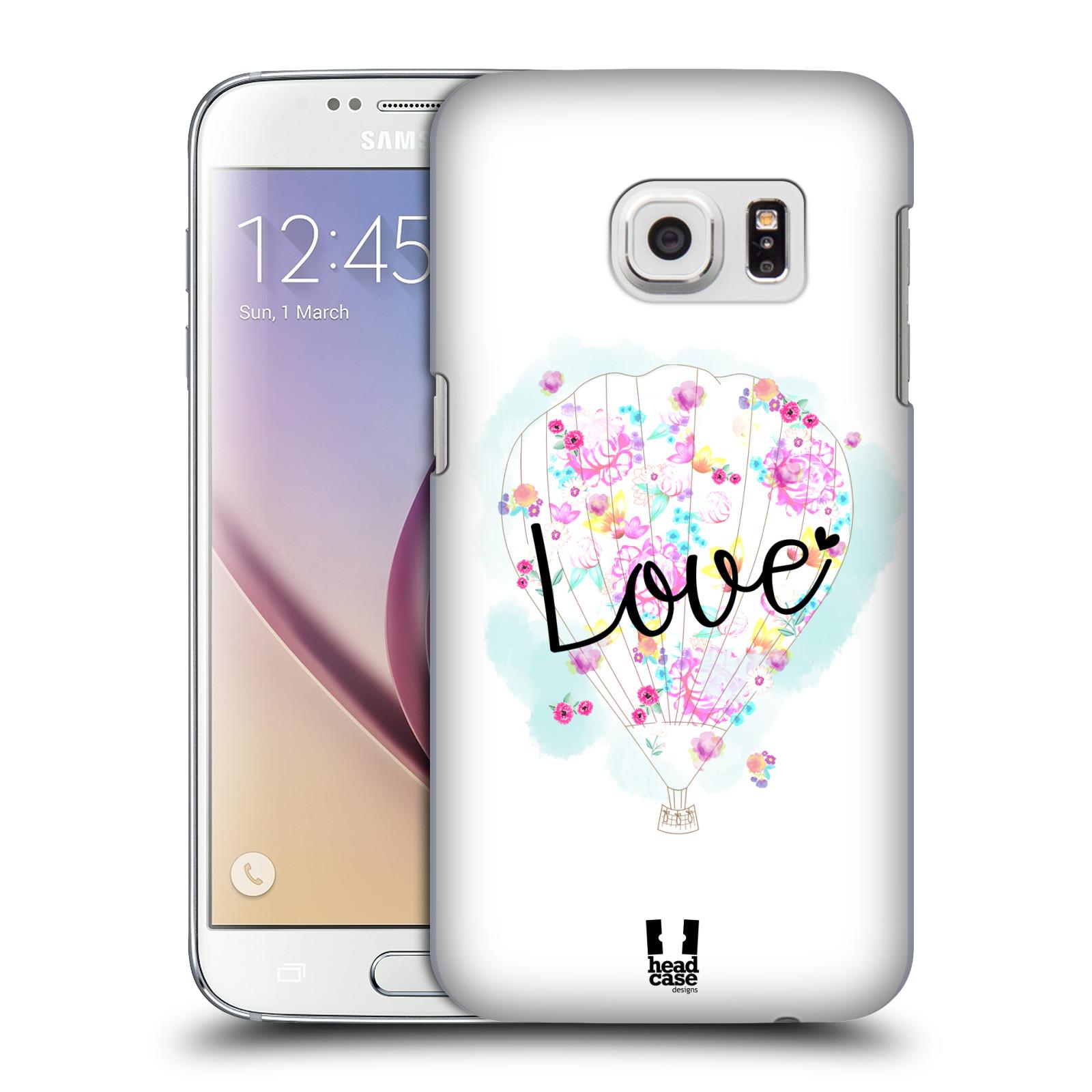 Plastové pouzdro na mobil Samsung Galaxy S7 HEAD CASE Balón Love (Plastový kryt či obal na mobilní telefon Samsung Galaxy S7 SM-G930F)