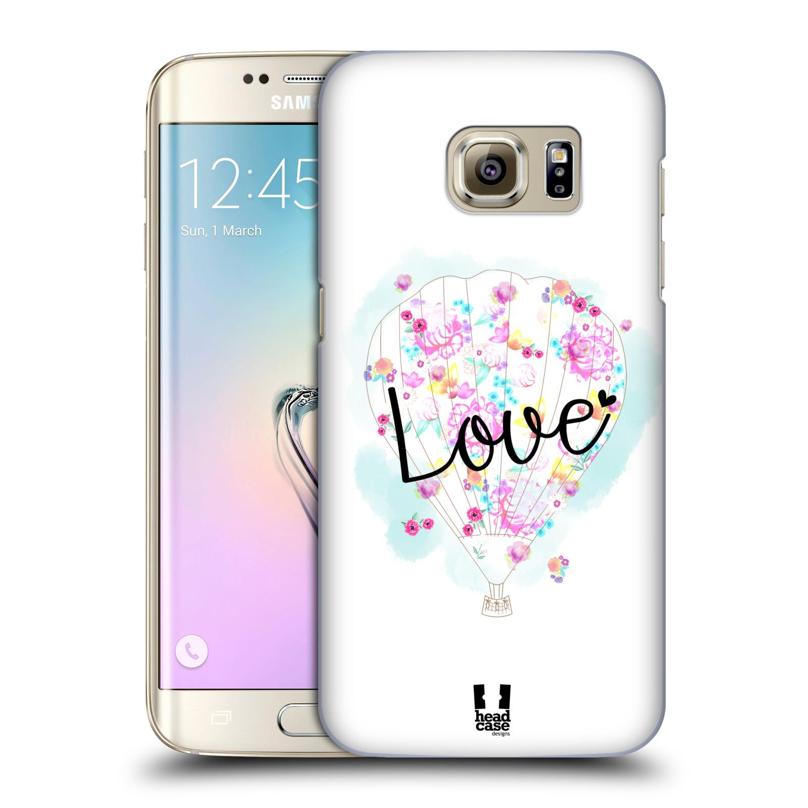 Plastové pouzdro na mobil Samsung Galaxy S7 Edge HEAD CASE Balón Love (Plastový kryt či obal na mobilní telefon Samsung Galaxy S7 Edge SM-G935F)