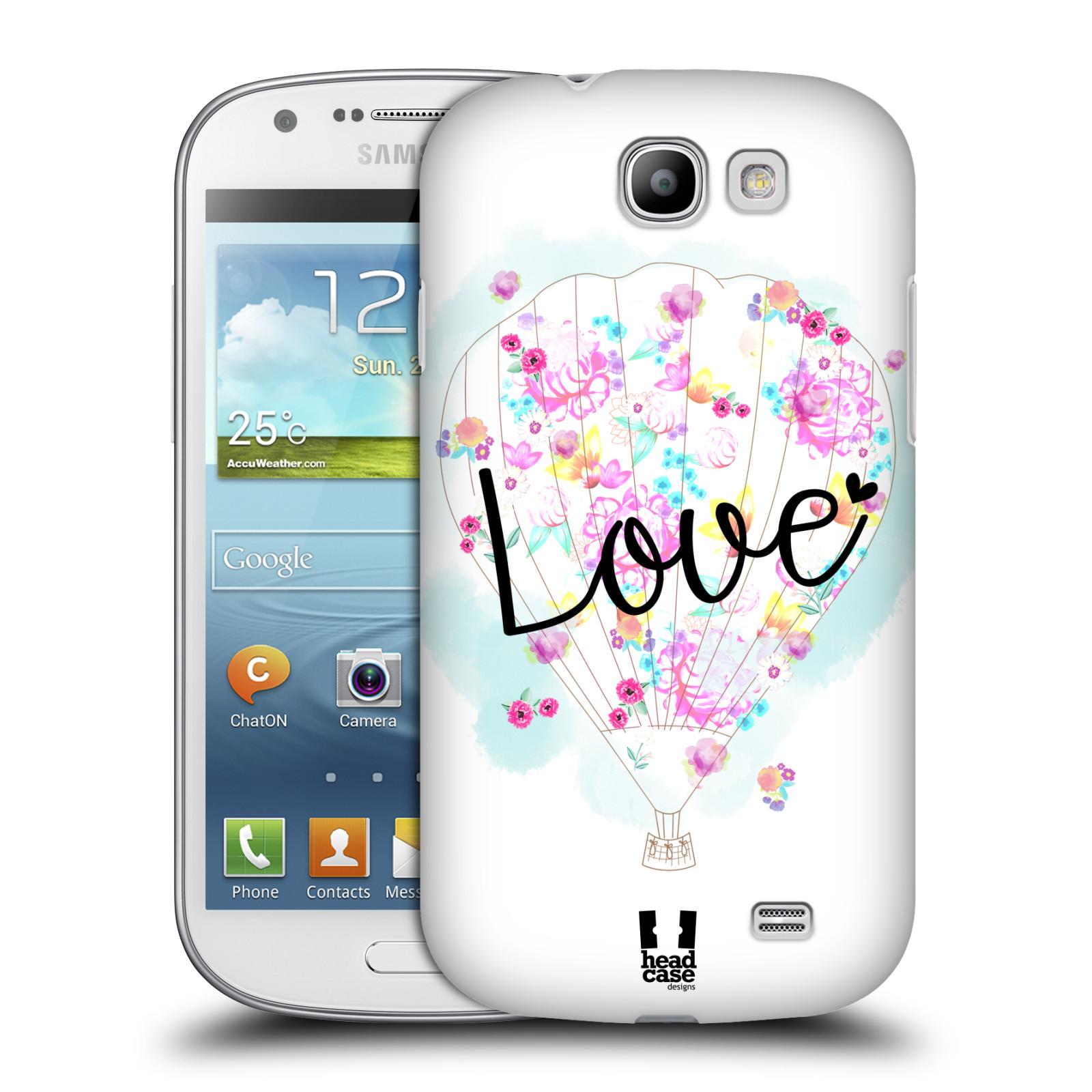 Plastové pouzdro na mobil Samsung Galaxy Express HEAD CASE Balón Love (Plastový kryt či obal na mobilní telefon Samsung Galaxy Express GT-i8730)