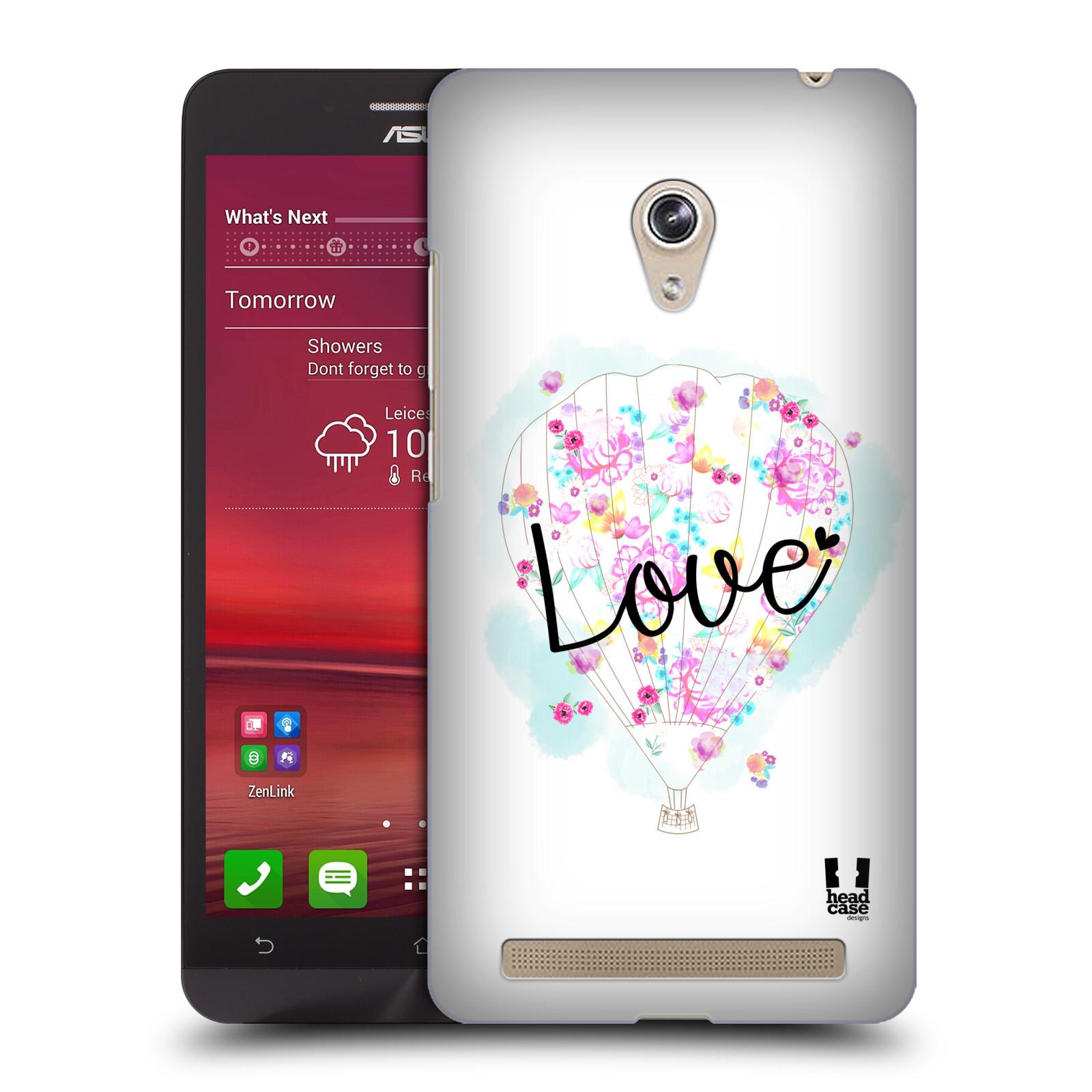Plastové pouzdro na mobil Asus Zenfone 6 HEAD CASE Balón Love (Plastový kryt či obal na mobilní telefon Asus Zenfone 6 A600CG / A601CG)