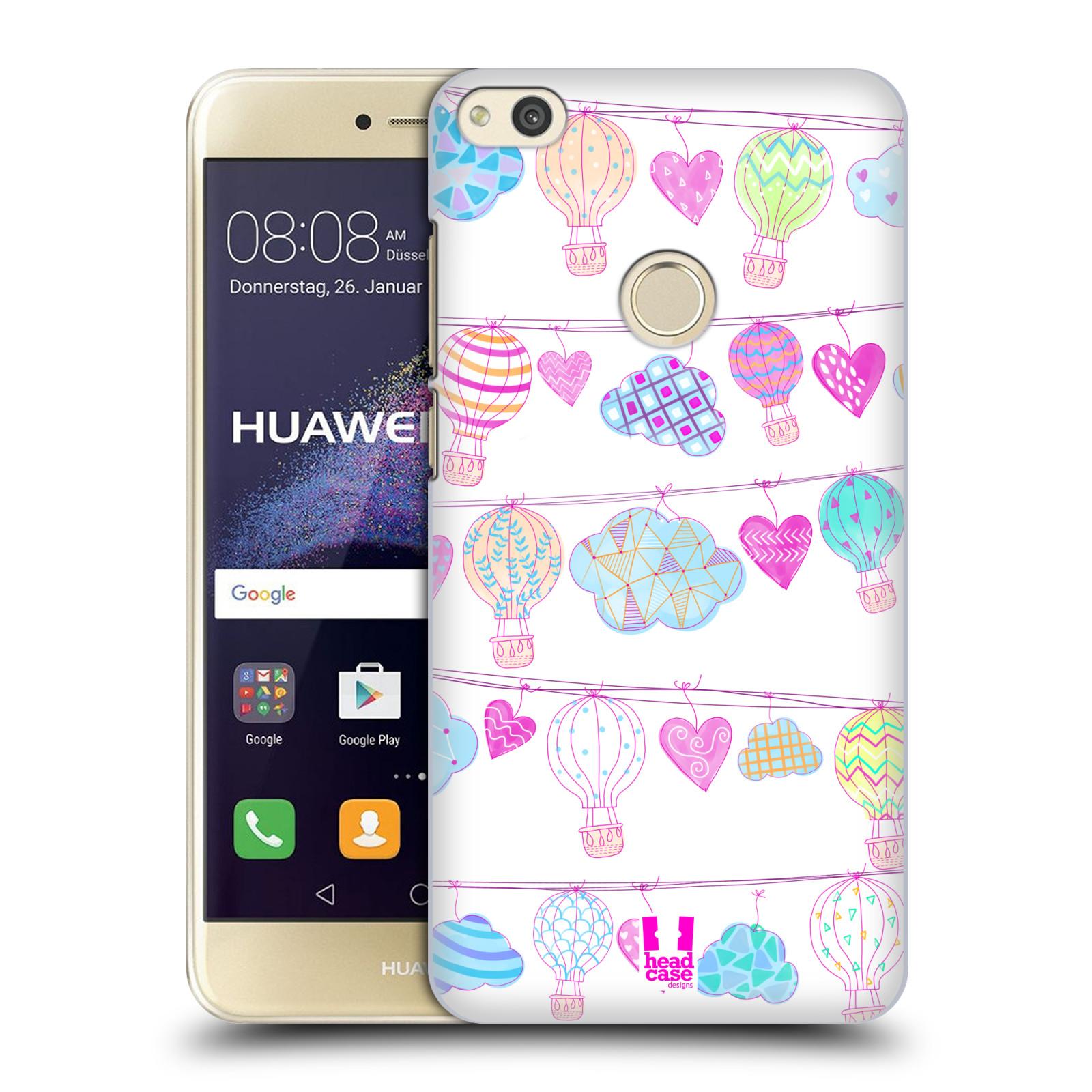 Plastové pouzdro na mobil Huawei P9 Lite (2017) - Head Case Balóny a srdíčka