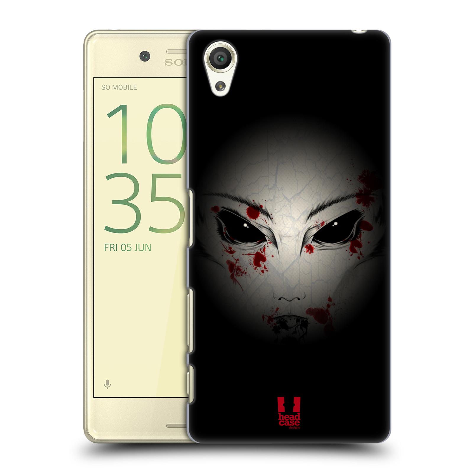 Plastové pouzdro na mobil Sony Xperia X HEAD CASE Macabre