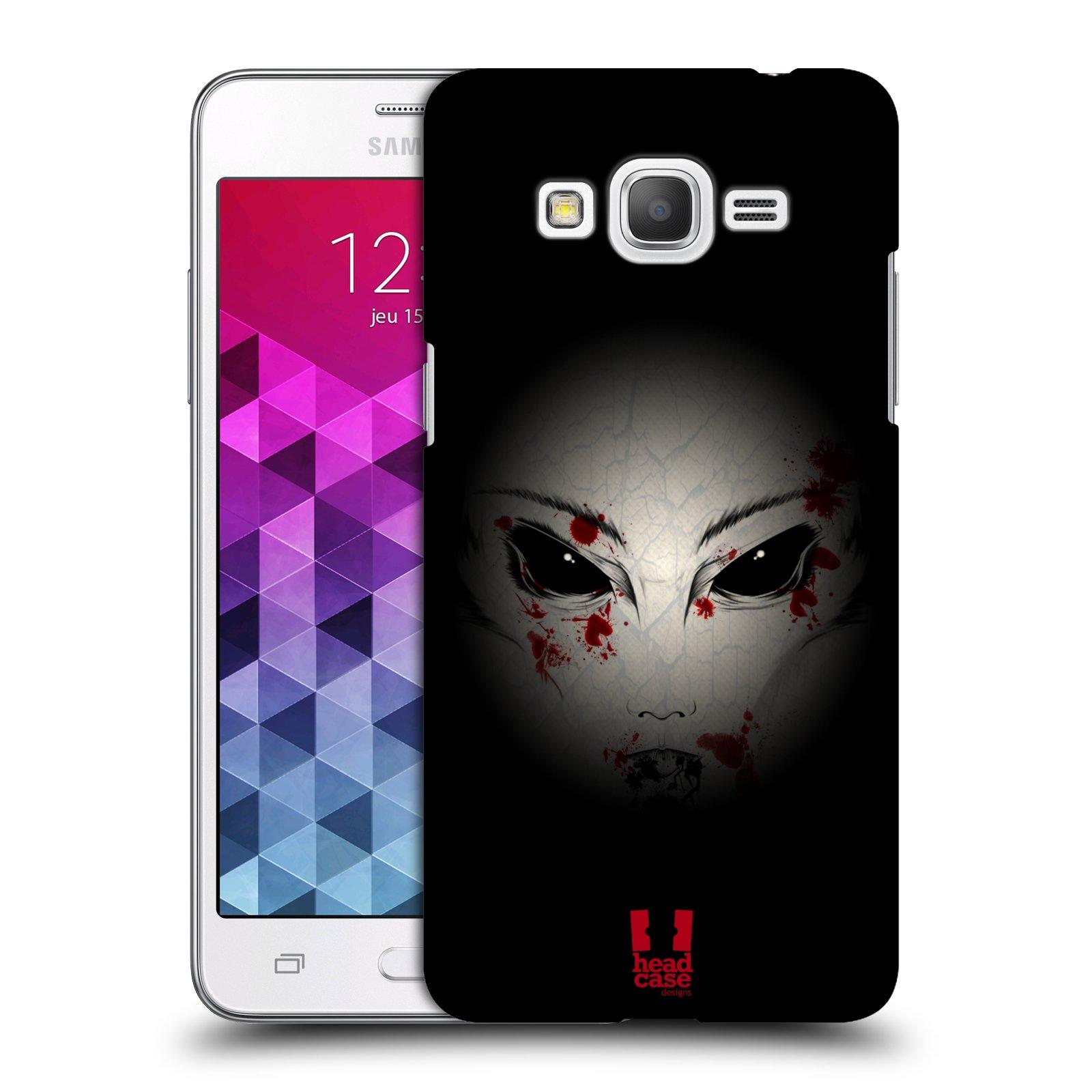 Plastové pouzdro na mobil Samsung Galaxy Grand Prime HEAD CASE Macabre