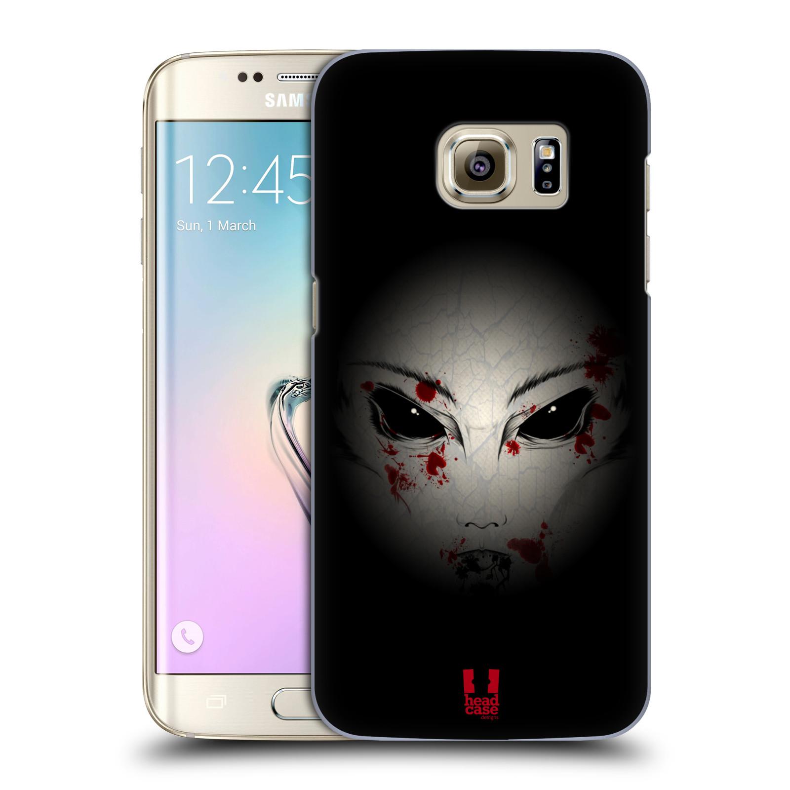 Plastové pouzdro na mobil Samsung Galaxy S7 Edge HEAD CASE Macabre (Kryt či obal na mobilní telefon Samsung Galaxy S7 Edge SM-G935F)