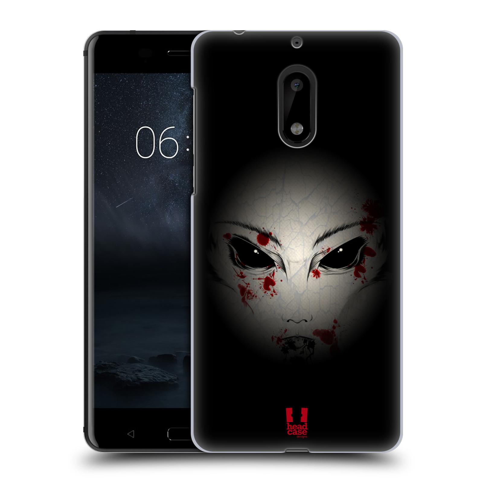 Plastové pouzdro na mobil Nokia 6 - Head Case Macabre (Plastový kryt či obal na mobilní telefon Nokia 6 (Dual SIM))