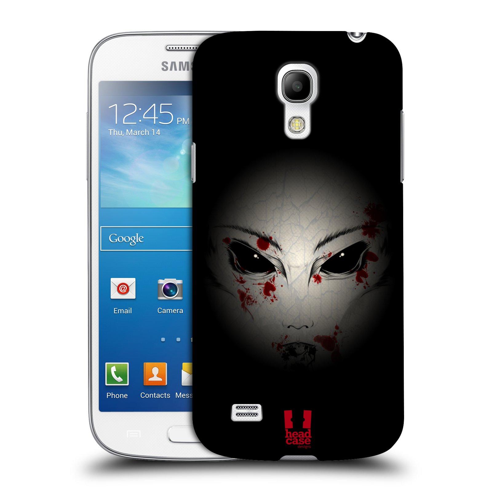 Plastové pouzdro na mobil Samsung Galaxy S4 Mini VE HEAD CASE Macabre