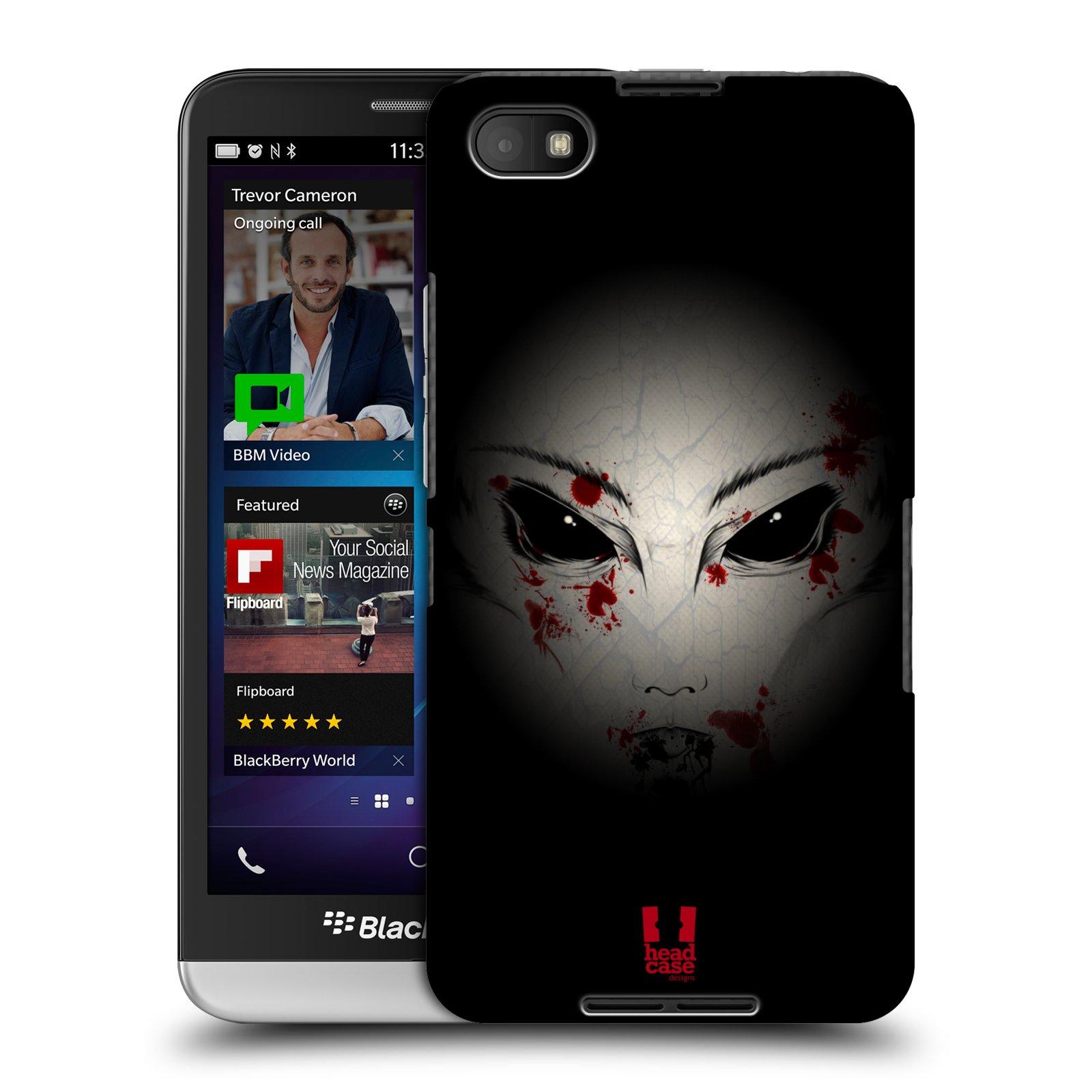 Plastové pouzdro na mobil Blackberry Z30 HEAD CASE Macabre (Kryt či obal na mobilní telefon Blackberry Z30)