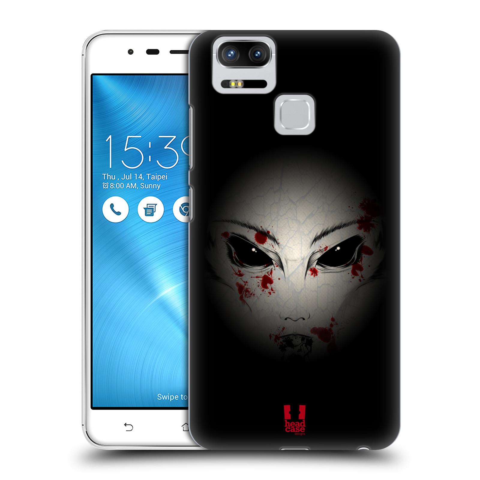 Plastové pouzdro na mobil Asus ZenFone 3 ZOOM ZE553KL - Head Case - Macabre (Plastový kryt či obal na mobilní telefon Asus ZenFone 3 ZOOM ZE553KL s motivem Macabre)