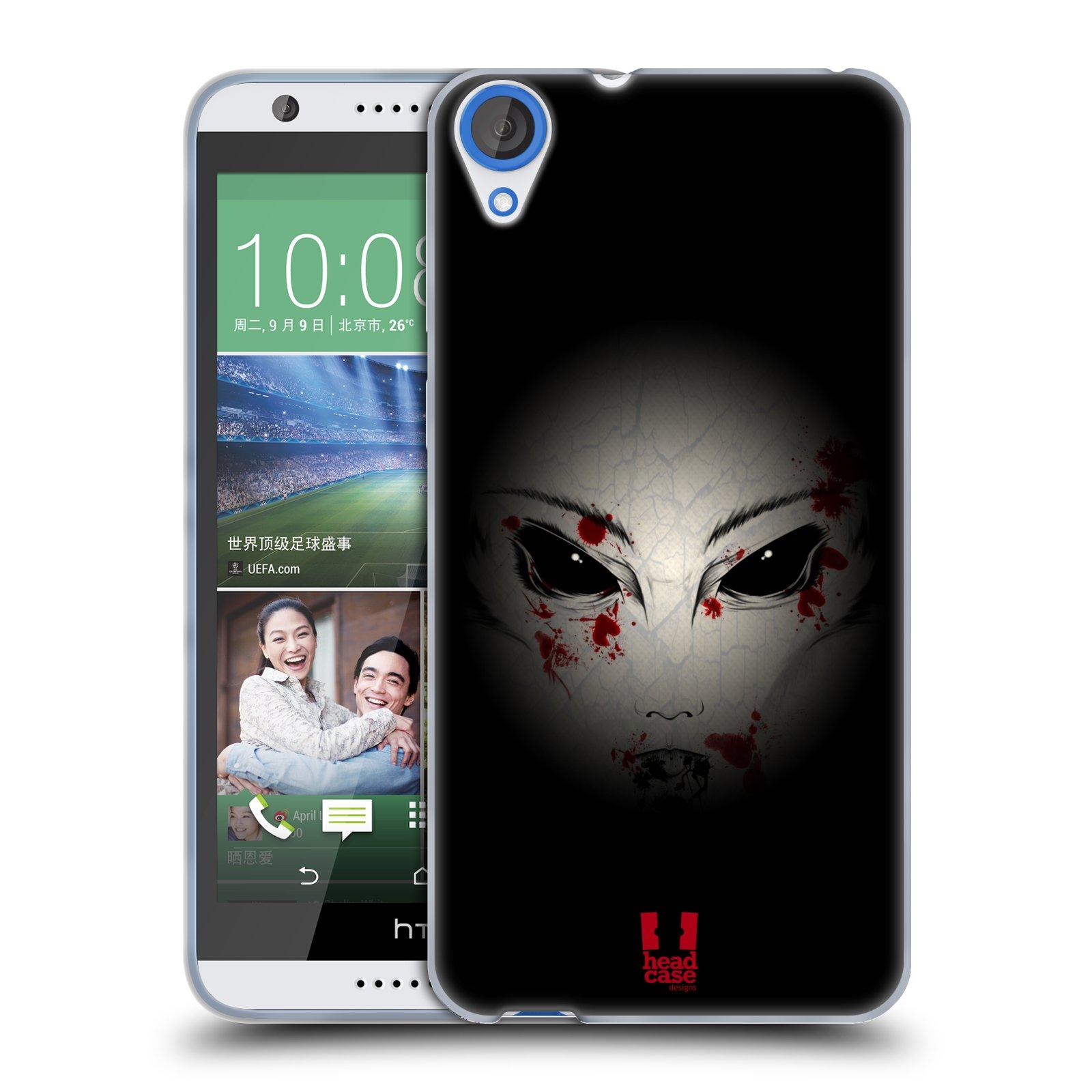 Silikonové pouzdro na mobil HTC Desire 820 HEAD CASE Macabre (Silikonový kryt či obal na mobilní telefon HTC Desire 820)