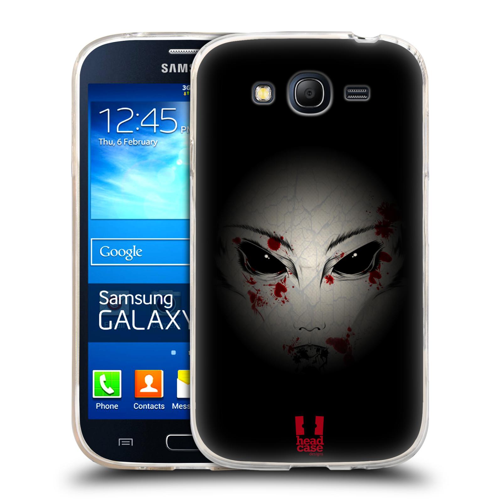 Silikonové pouzdro na mobil Samsung Galaxy Grand Neo Plus HEAD CASE Macabre (Silikonový kryt či obal na mobilní telefon Samsung Galaxy Grand Neo Plus Duos GT-I9060i)
