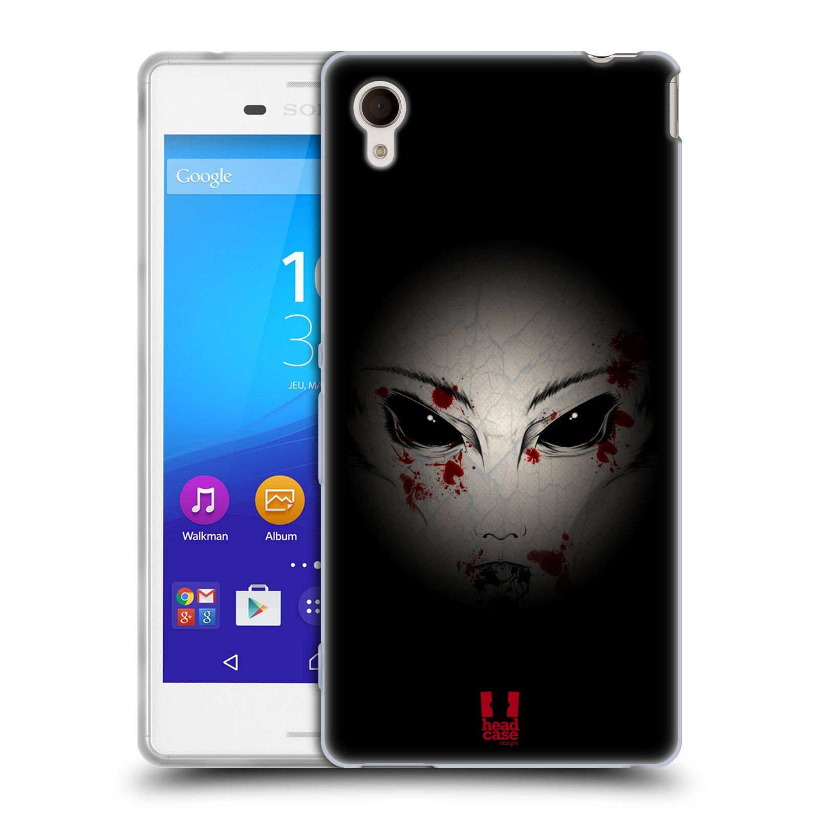 Silikonové pouzdro na mobil Sony Xperia M4 Aqua E2303 HEAD CASE Macabre (Silikonový kryt či obal na mobilní telefon Sony Xperia M4 Aqua a M4 Aqua Dual SIM)