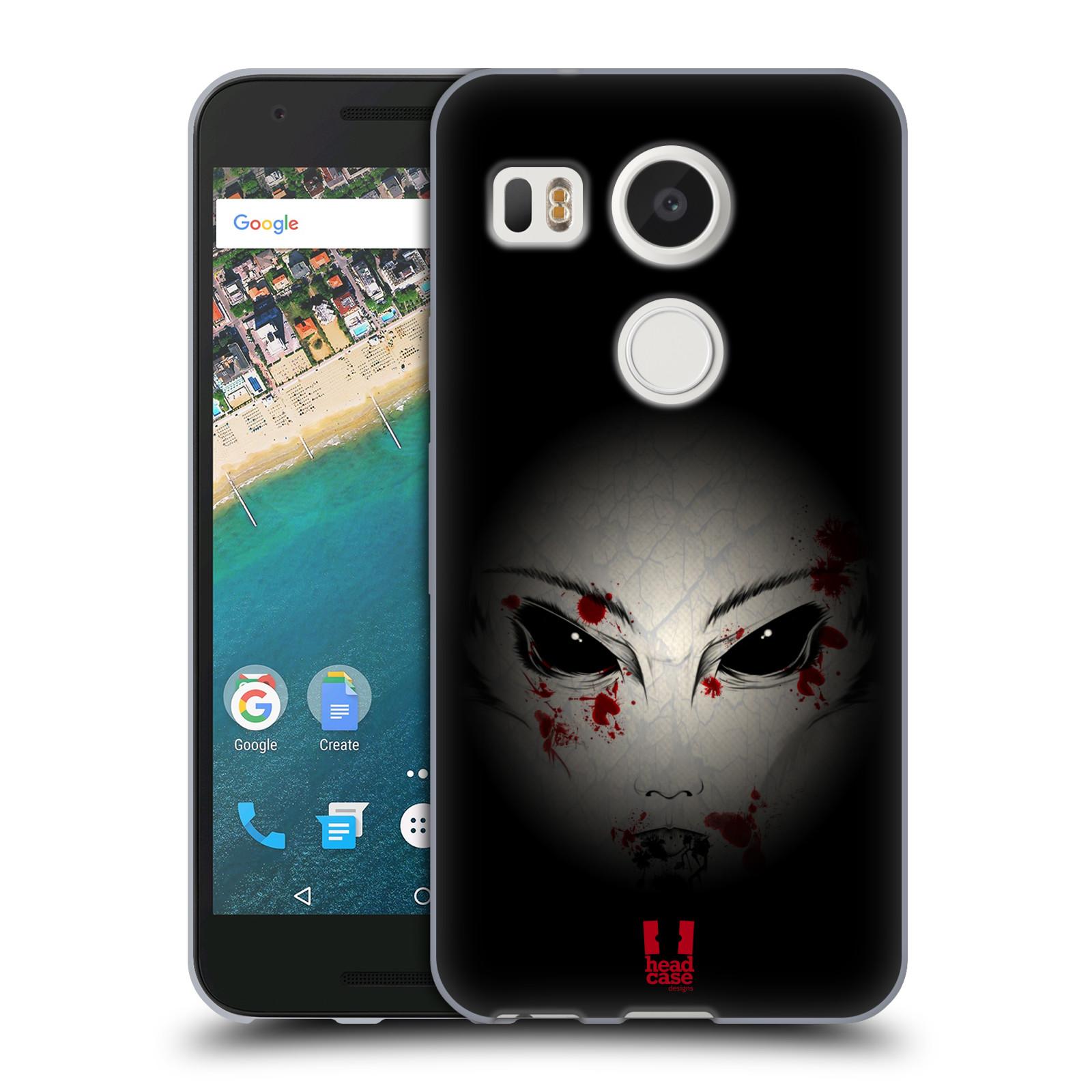 Silikonové pouzdro na mobil LG Nexus 5X - Head Case - Macabre (Silikonový kryt či obal na mobilní telefon LG Nexus 5X)