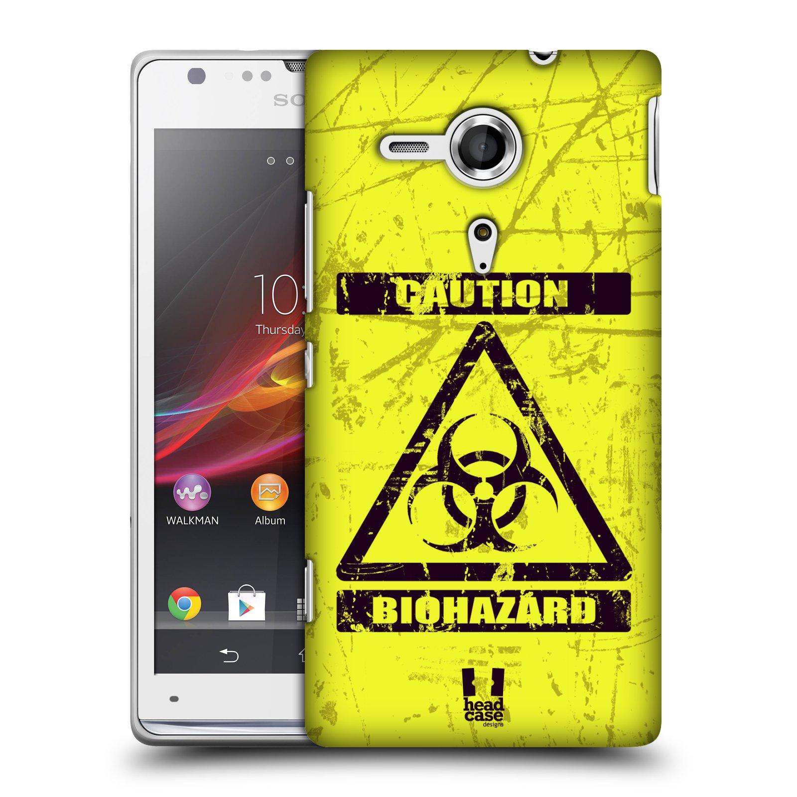 Plastové pouzdro na mobil Sony Xperia SP C5303 HEAD CASE BIOHAZARD (Kryt či obal na mobilní telefon Sony Xperia SP )