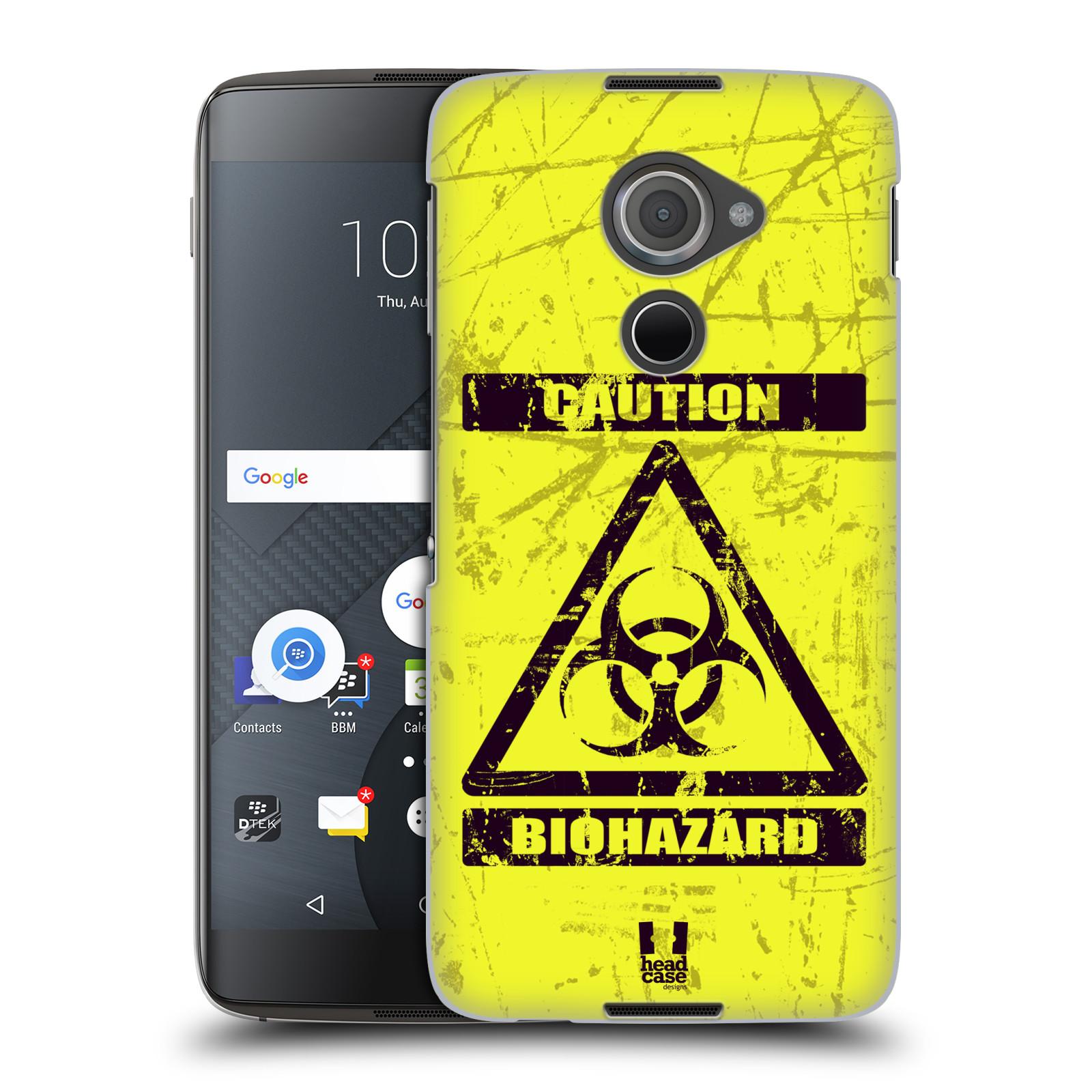 Plastové pouzdro na mobil Blackberry DTEK60 (Argon) - Head Case BIOHAZARD (Plastový kryt či obal na mobilní telefon Blackberry DTEK60 (Argon))