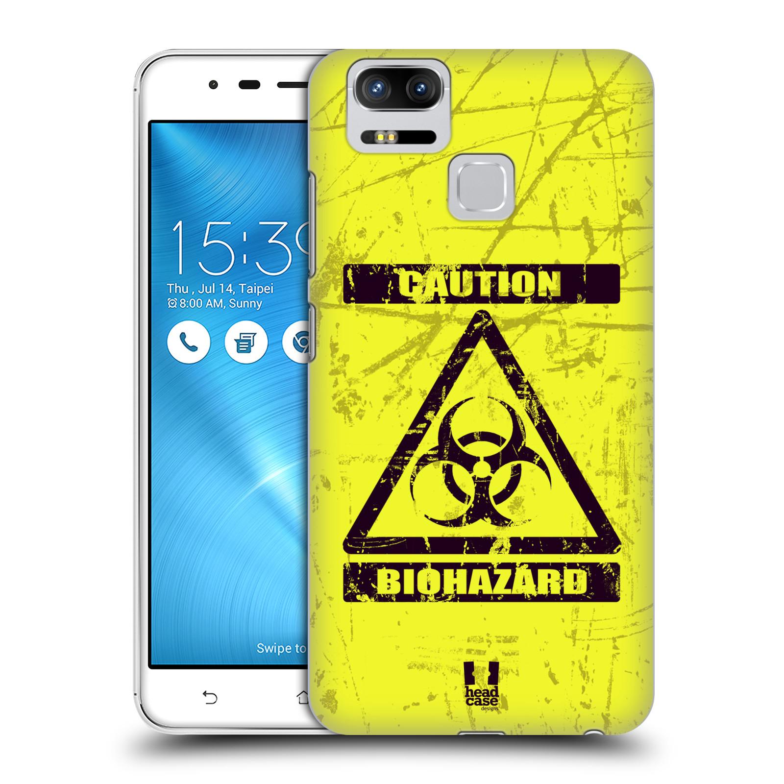 Plastové pouzdro na mobil Asus ZenFone 3 ZOOM ZE553KL - Head Case - BIOHAZARD (Plastový kryt či obal na mobilní telefon Asus ZenFone 3 ZOOM ZE553KL s motivem BIOHAZARD)