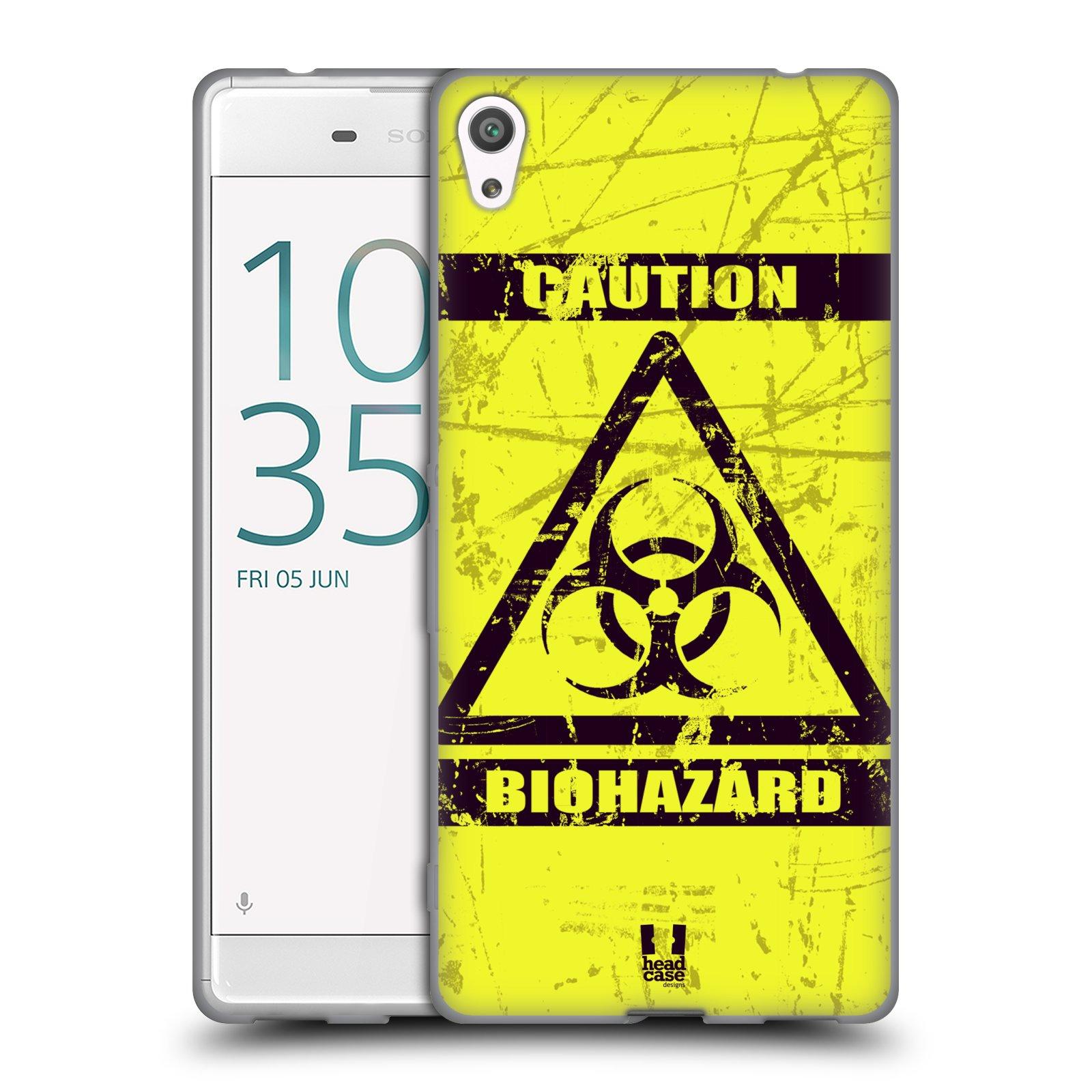 Silikonové pouzdro na mobil Sony Xperia XA Ultra HEAD CASE BIOHAZARD