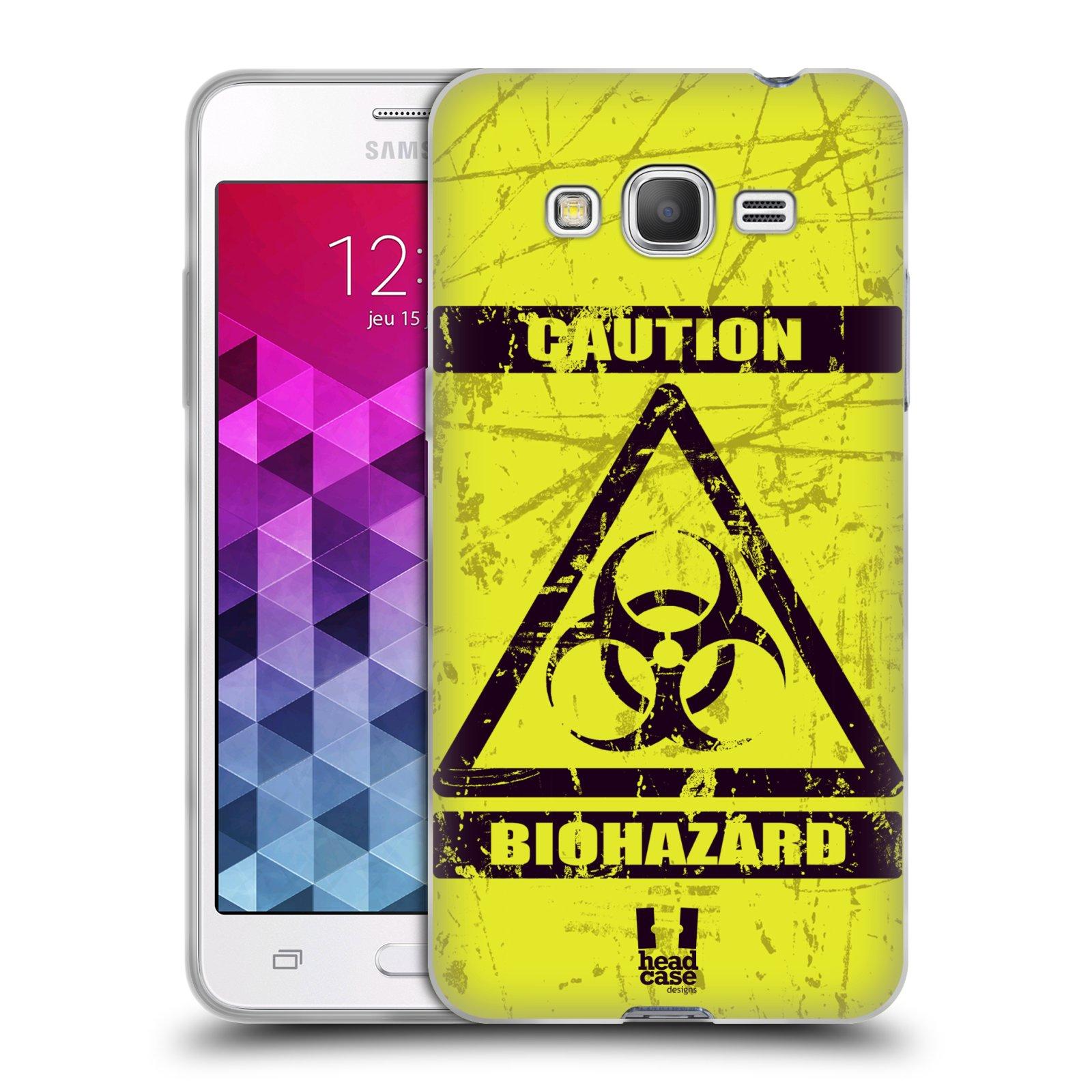 Silikonové pouzdro na mobil Samsung Galaxy Grand Prime HEAD CASE BIOHAZARD