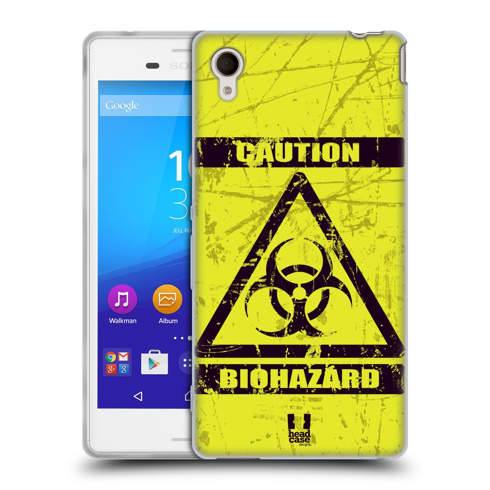 Silikonové pouzdro na mobil Sony Xperia M4 Aqua E2303 HEAD CASE BIOHAZARD (Silikonový kryt či obal na mobilní telefon Sony Xperia M4 Aqua a M4 Aqua Dual SIM)