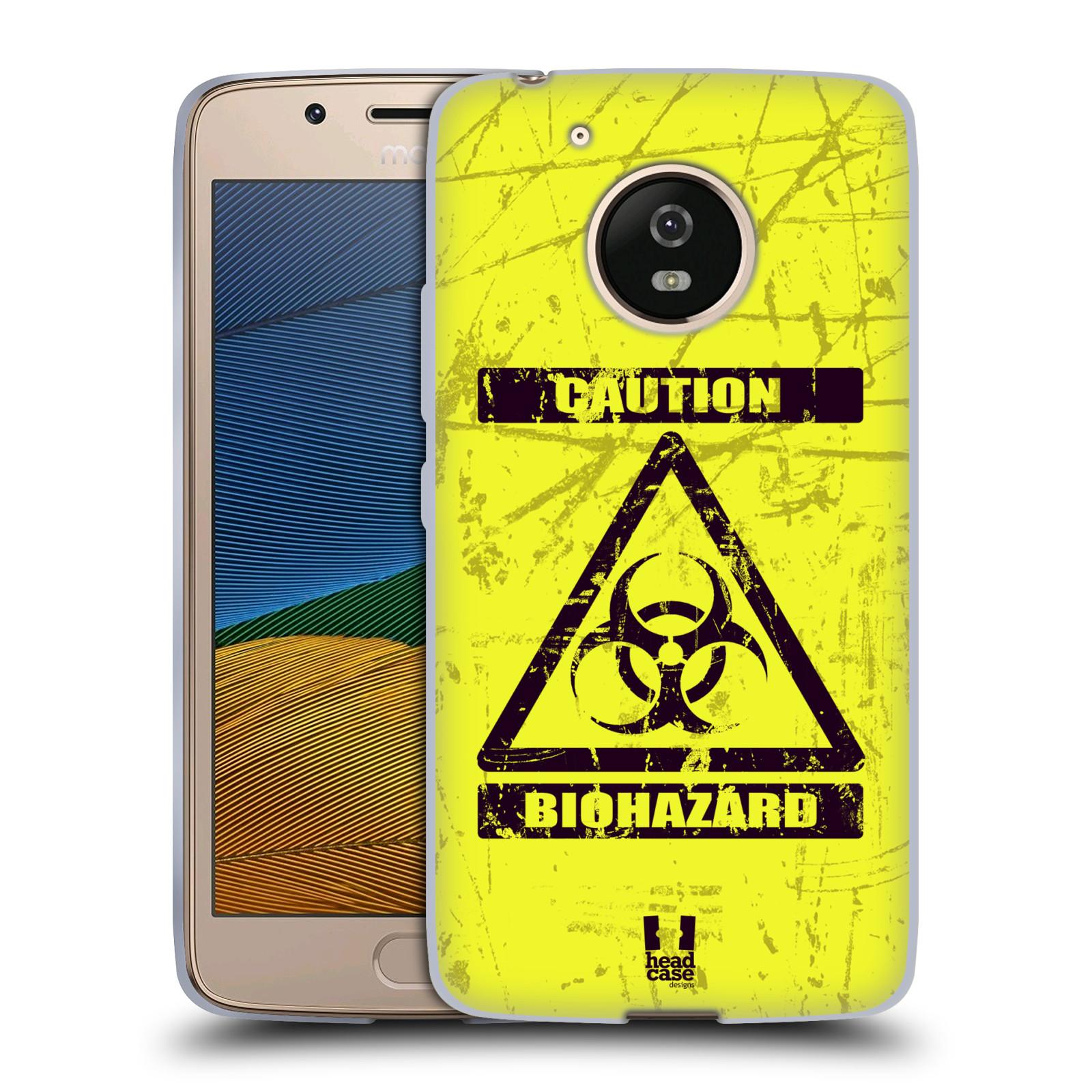 Silikonové pouzdro na mobil Lenovo Moto G5 - Head Case BIOHAZARD (Silikonový kryt či obal na mobilní telefon Lenovo Moto G5)