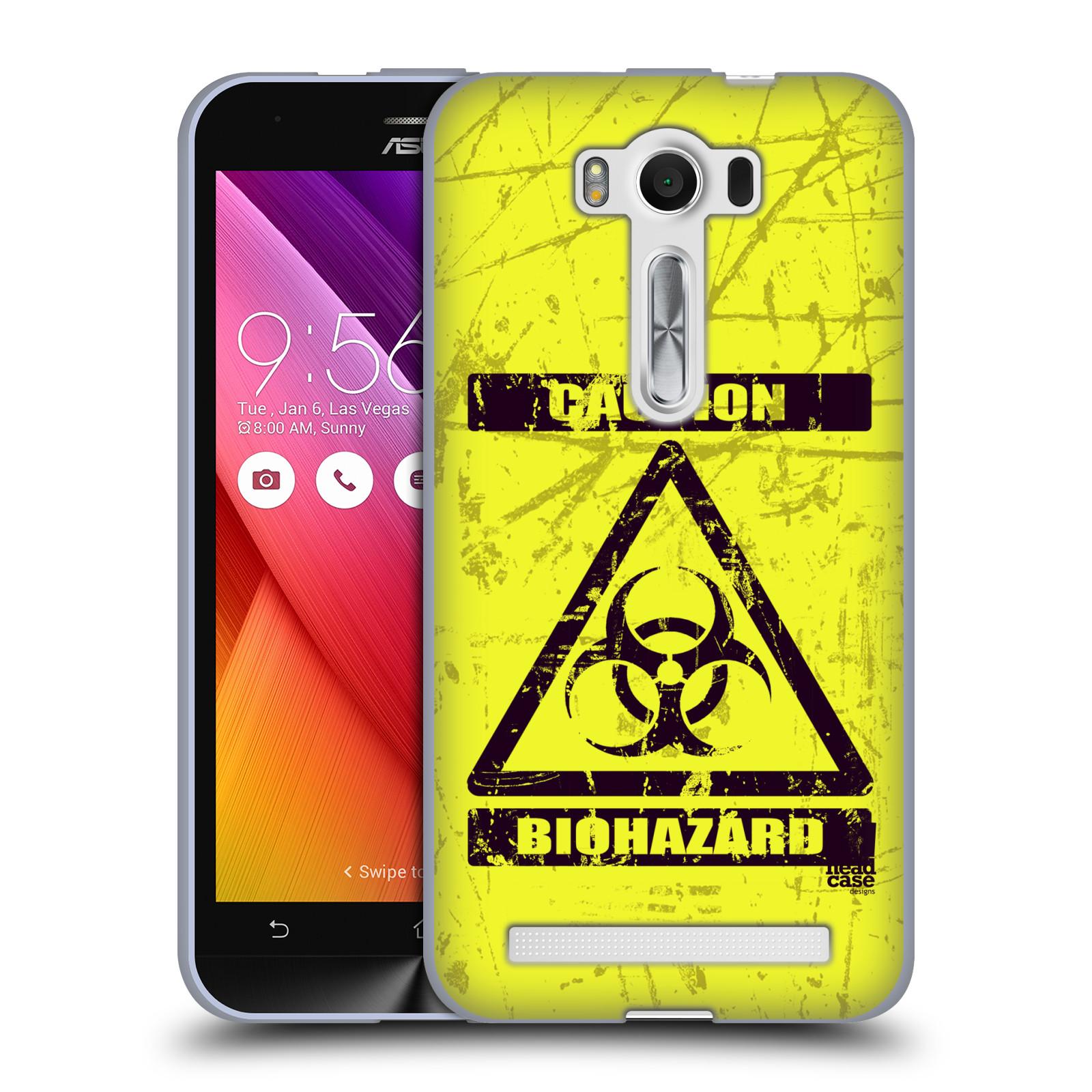 """Silikonové pouzdro na mobil Asus ZenFone 2 Laser ZE500KL HEAD CASE BIOHAZARD (Silikonový kryt či obal na mobilní telefon Asus ZenFone 2 Laser ZE500KL s 5"""" displejem)"""