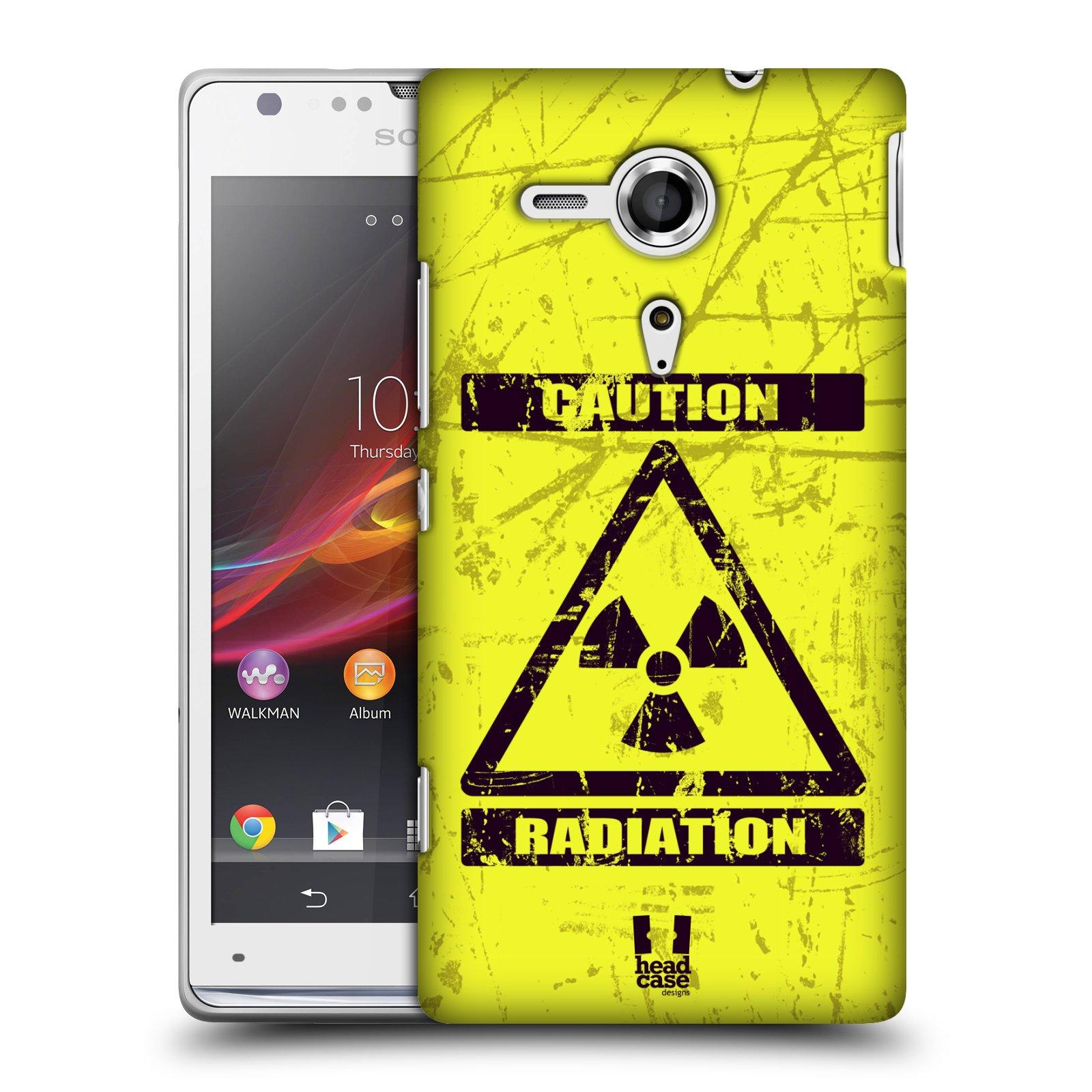 Plastové pouzdro na mobil Sony Xperia SP C5303 HEAD CASE RADIACE (Kryt či obal na mobilní telefon Sony Xperia SP )