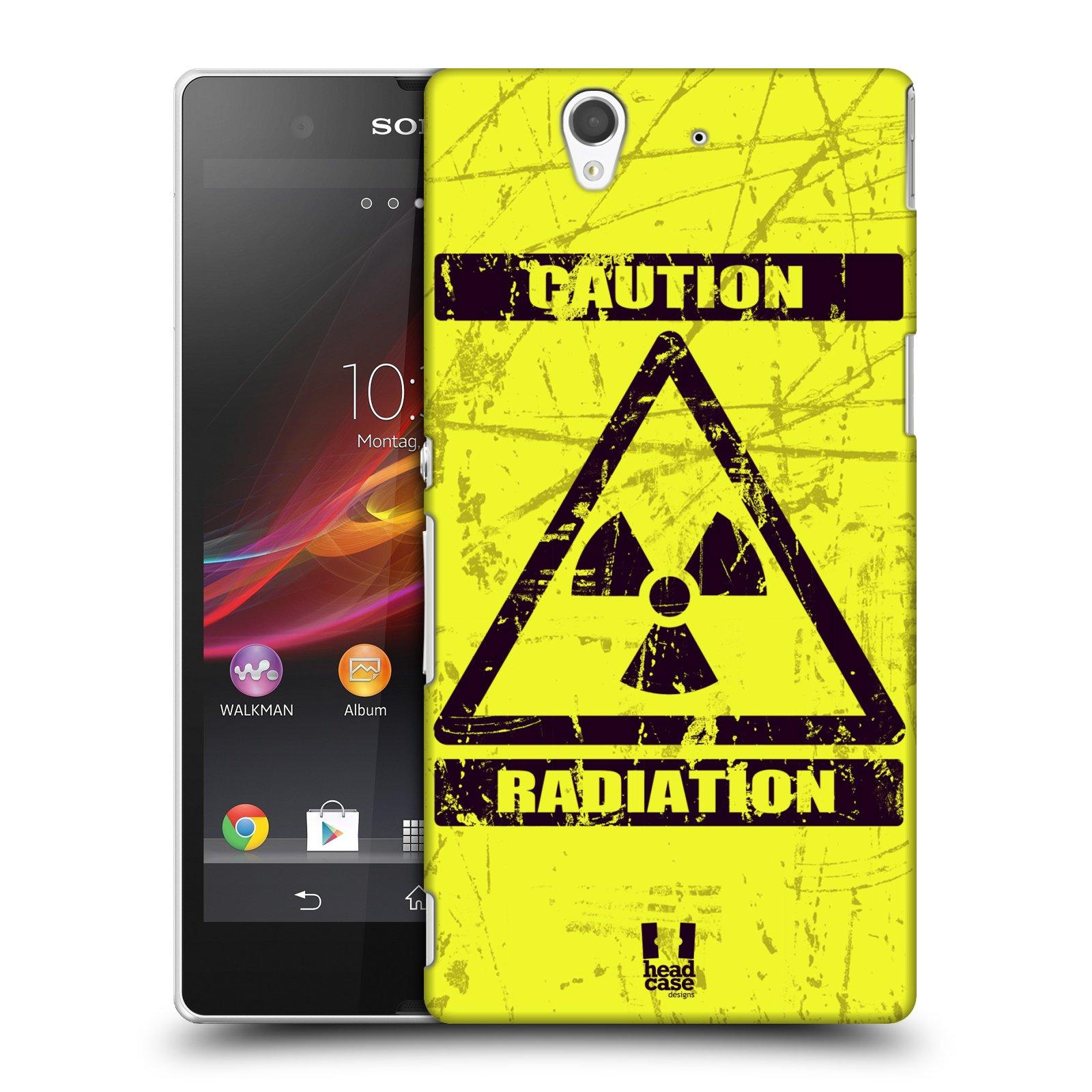 Plastové pouzdro na mobil Sony Xperia Z C6603 HEAD CASE RADIACE (Kryt či obal na mobilní telefon Sony Xperia Z )