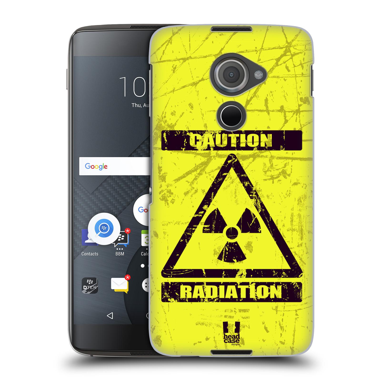 Plastové pouzdro na mobil Blackberry DTEK60 (Argon) - Head Case RADIACE (Plastový kryt či obal na mobilní telefon Blackberry DTEK60 (Argon))