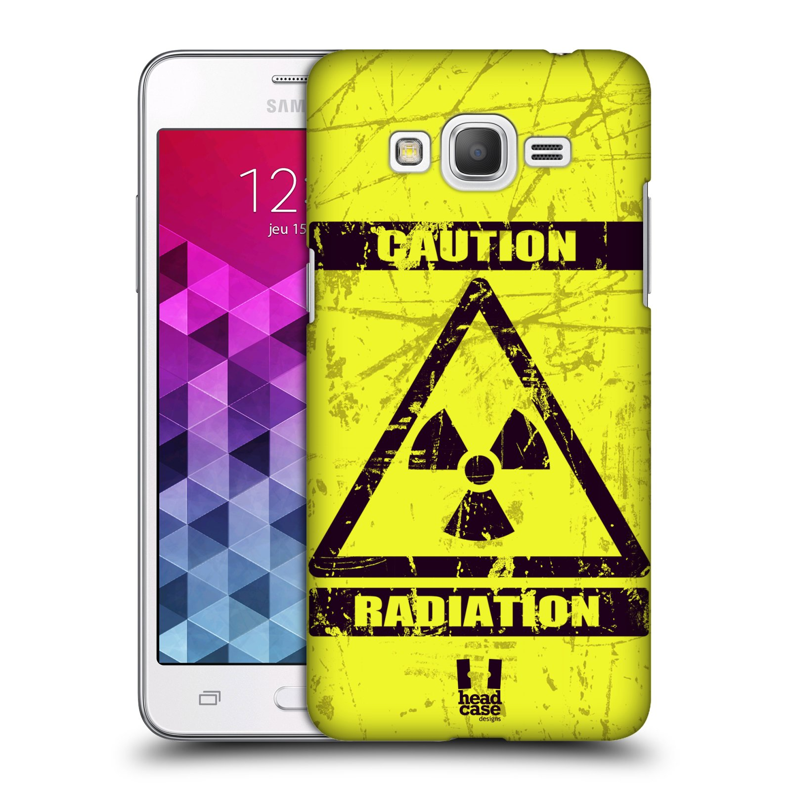 Plastové pouzdro na mobil Samsung Galaxy Grand Prime HEAD CASE RADIACE