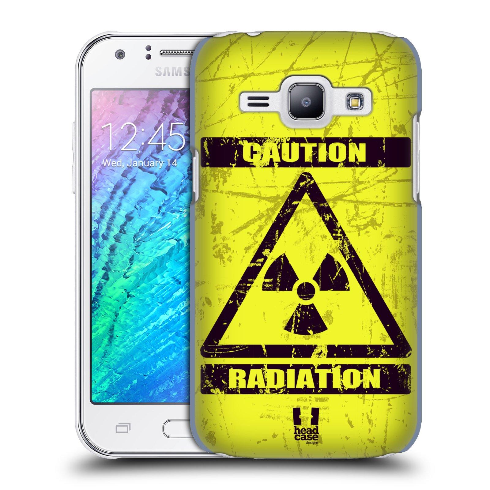 Plastové pouzdro na mobil Samsung Galaxy J1 HEAD CASE RADIACE