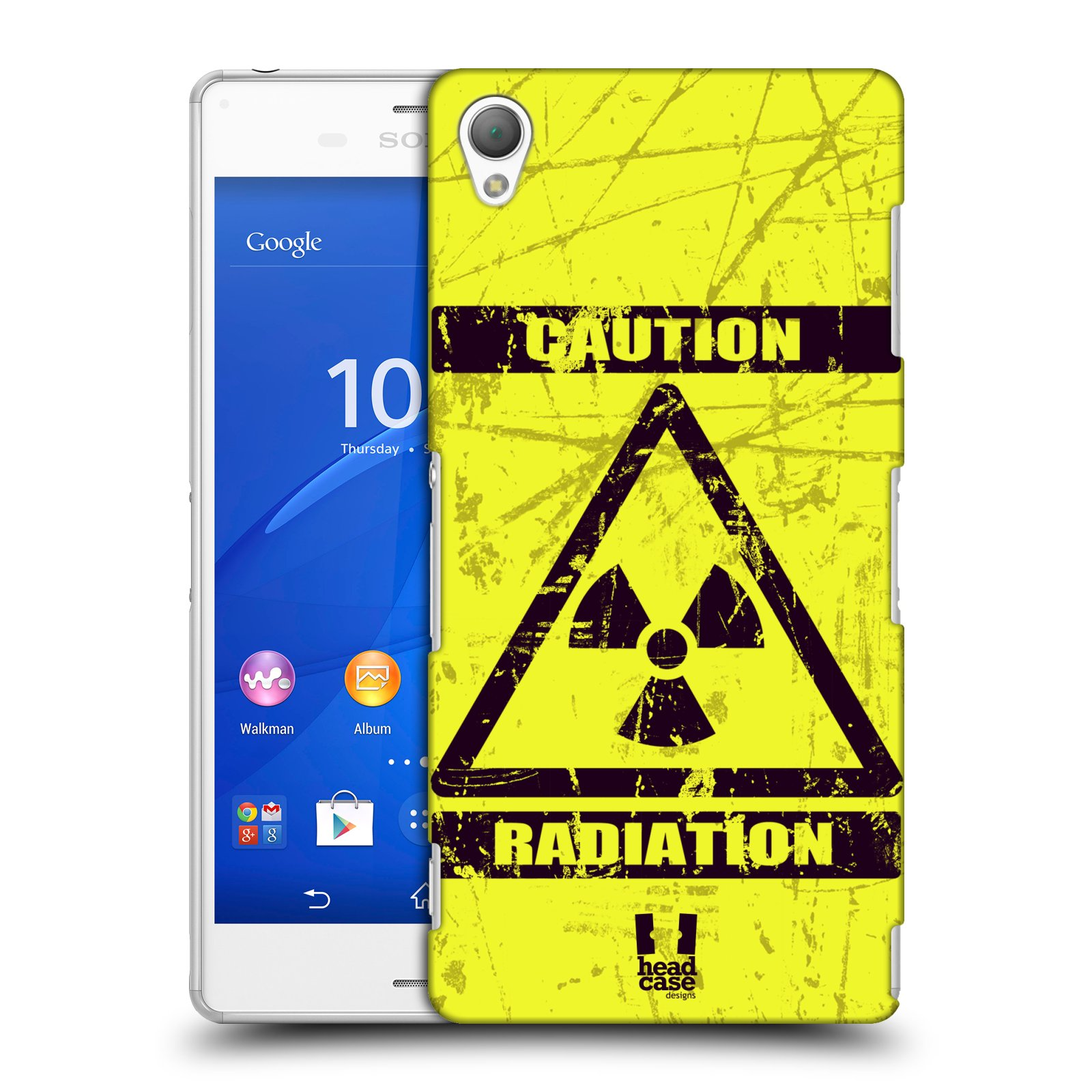 Plastové pouzdro na mobil Sony Xperia Z3 D6603 HEAD CASE RADIACE (Kryt či obal na mobilní telefon Sony Xperia Z3 )