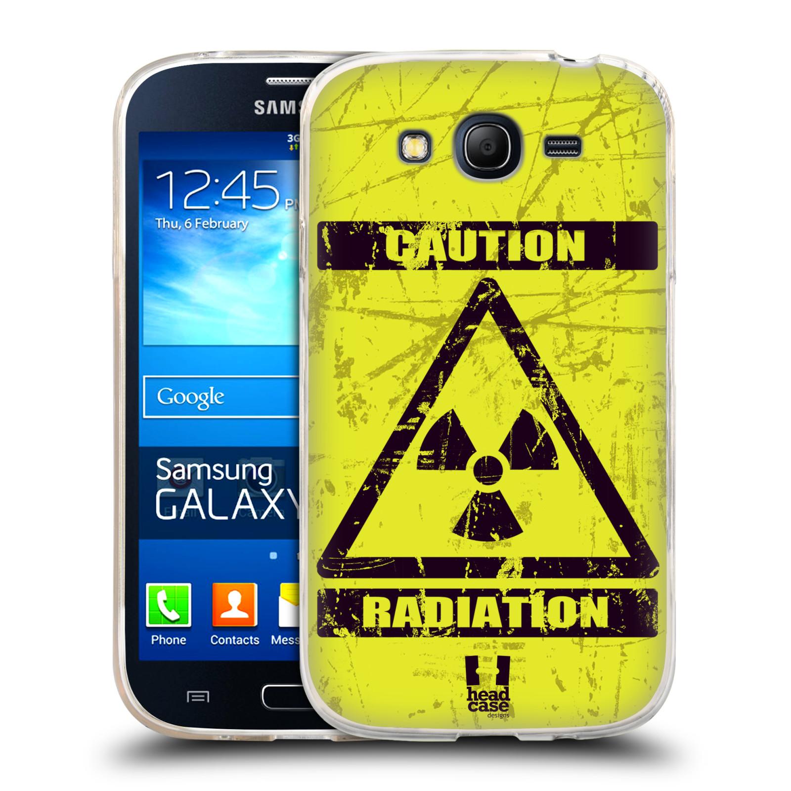 Silikonové pouzdro na mobil Samsung Galaxy Grand Neo Plus HEAD CASE RADIACE (Silikonový kryt či obal na mobilní telefon Samsung Galaxy Grand Neo Plus Duos GT-I9060i)