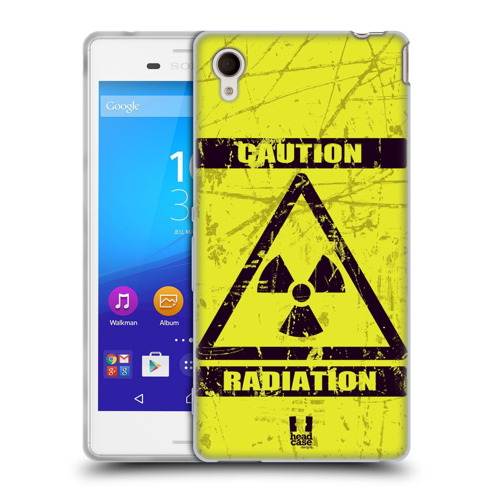 Silikonové pouzdro na mobil Sony Xperia M4 Aqua E2303 HEAD CASE RADIACE (Silikonový kryt či obal na mobilní telefon Sony Xperia M4 Aqua a M4 Aqua Dual SIM)