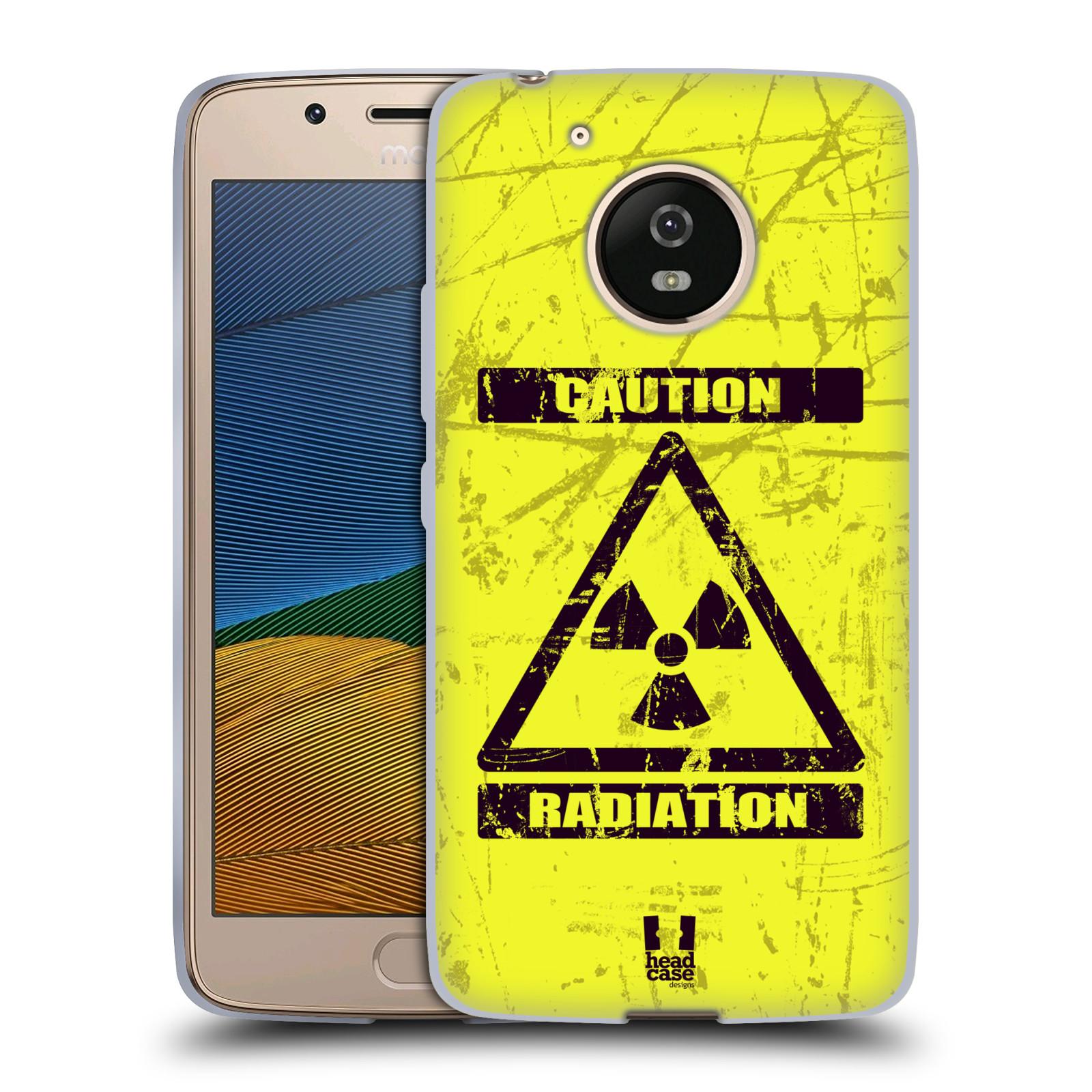 Silikonové pouzdro na mobil Lenovo Moto G5 - Head Case RADIACE (Silikonový kryt či obal na mobilní telefon Lenovo Moto G5)