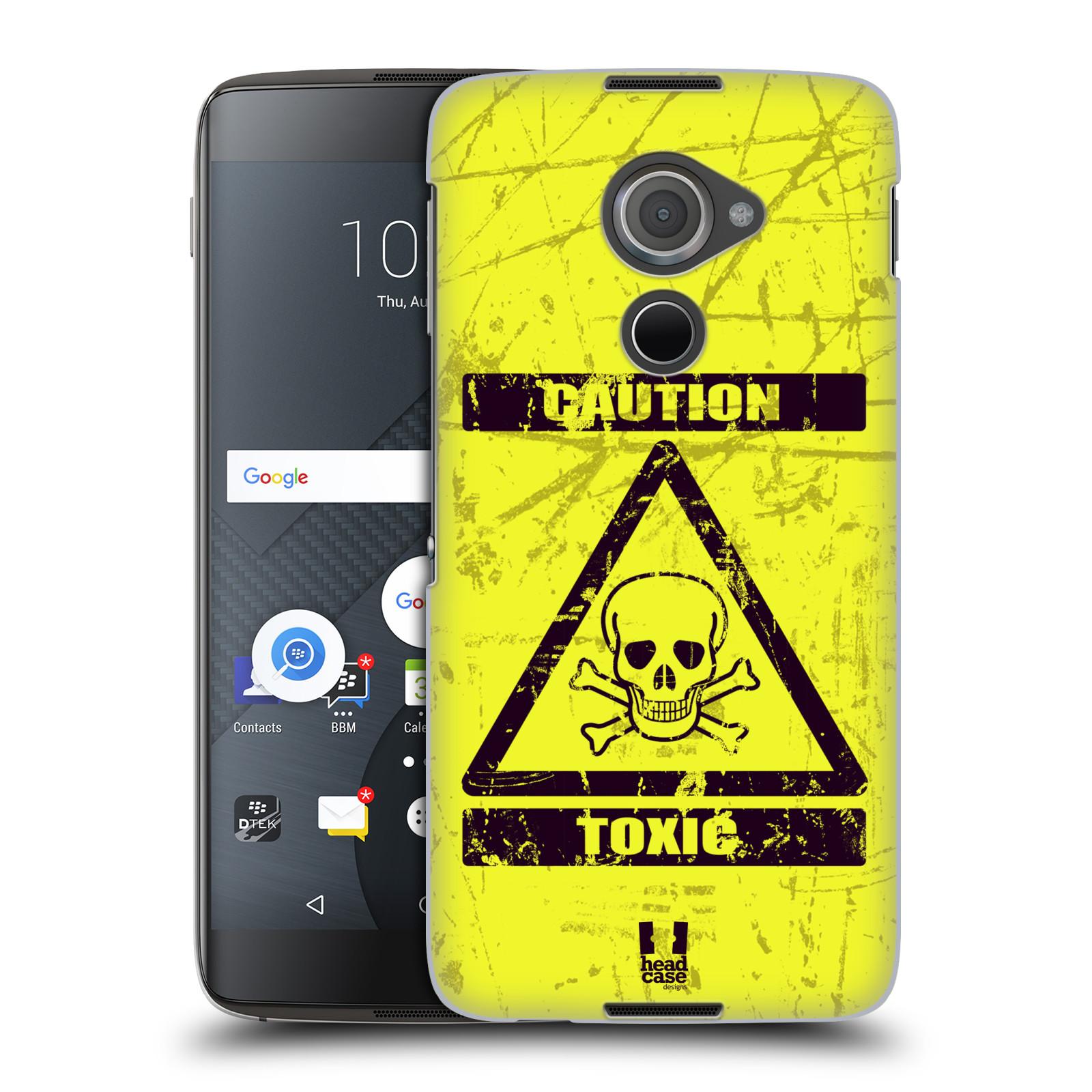 Plastové pouzdro na mobil Blackberry DTEK60 (Argon) - Head Case TOXIC (Plastový kryt či obal na mobilní telefon Blackberry DTEK60 (Argon))