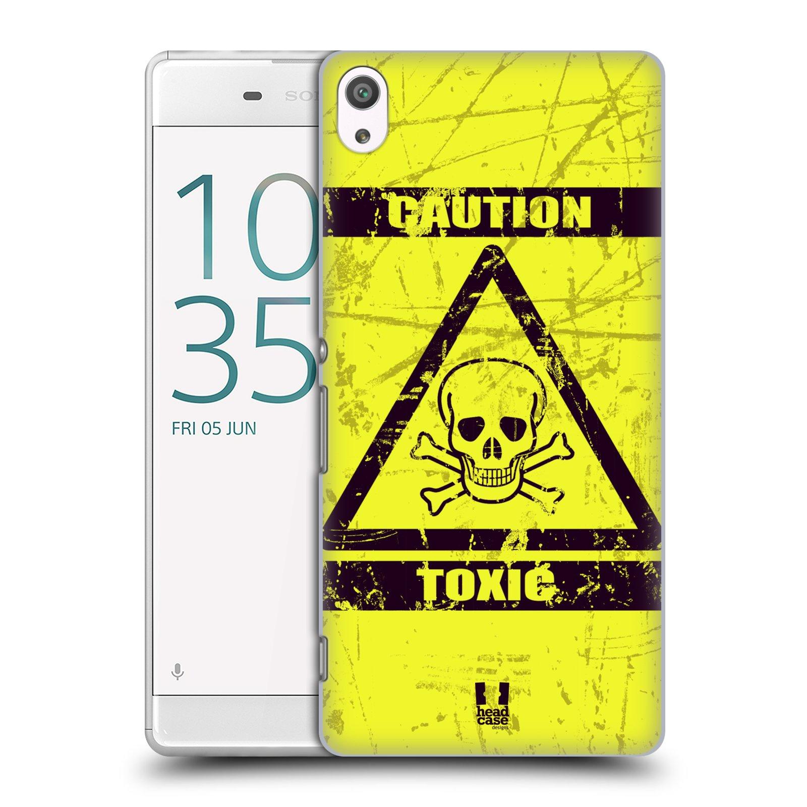 Plastové pouzdro na mobil Sony Xperia XA Ultra HEAD CASE TOXIC