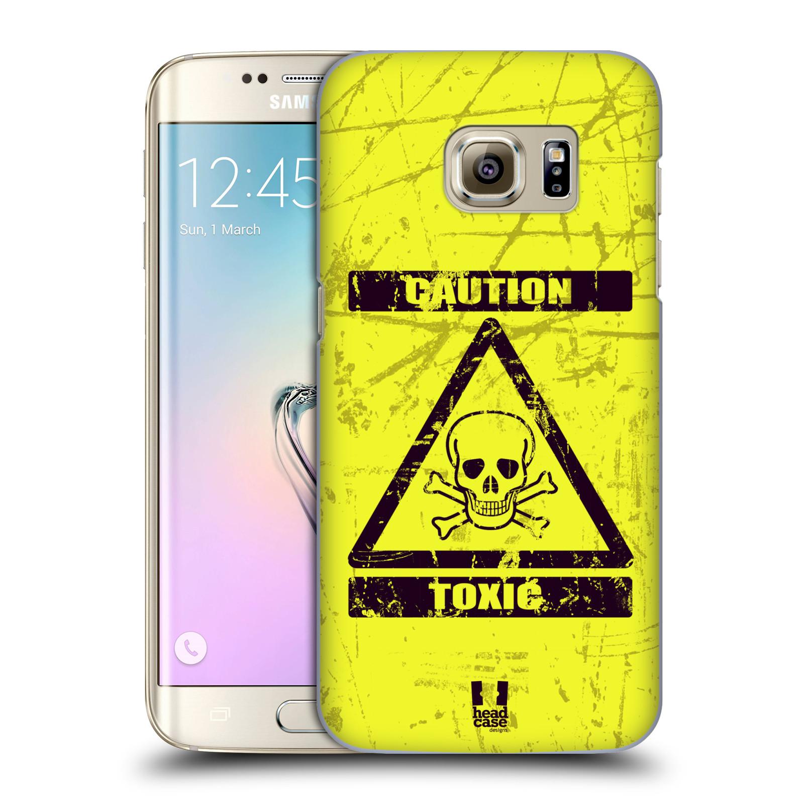 Plastové pouzdro na mobil Samsung Galaxy S7 Edge HEAD CASE TOXIC (Kryt či obal na mobilní telefon Samsung Galaxy S7 Edge SM-G935F)