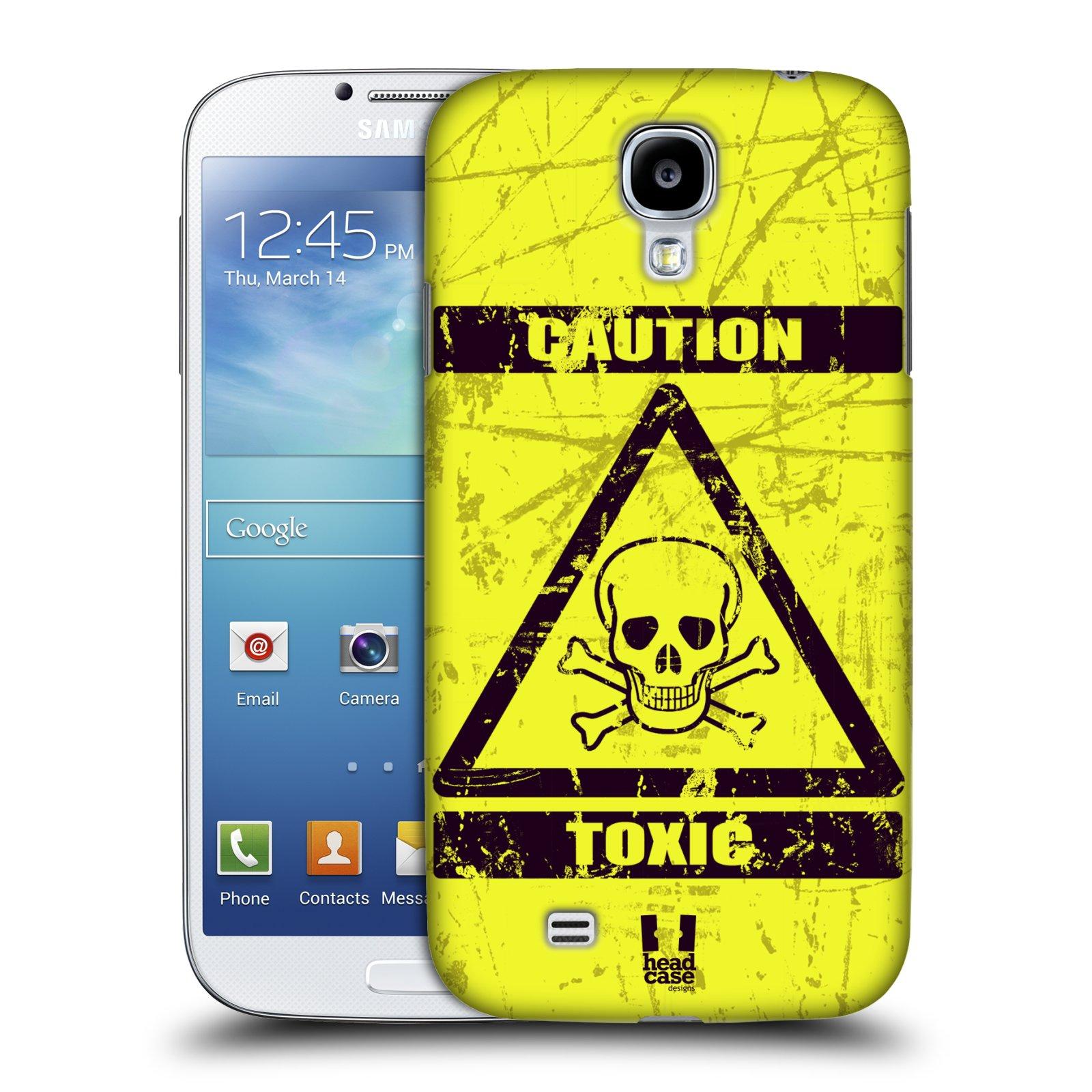 Plastové pouzdro na mobil Samsung Galaxy S4 HEAD CASE TOXIC (Kryt či obal na mobilní telefon Samsung Galaxy S4 GT-i9505 / i9500)