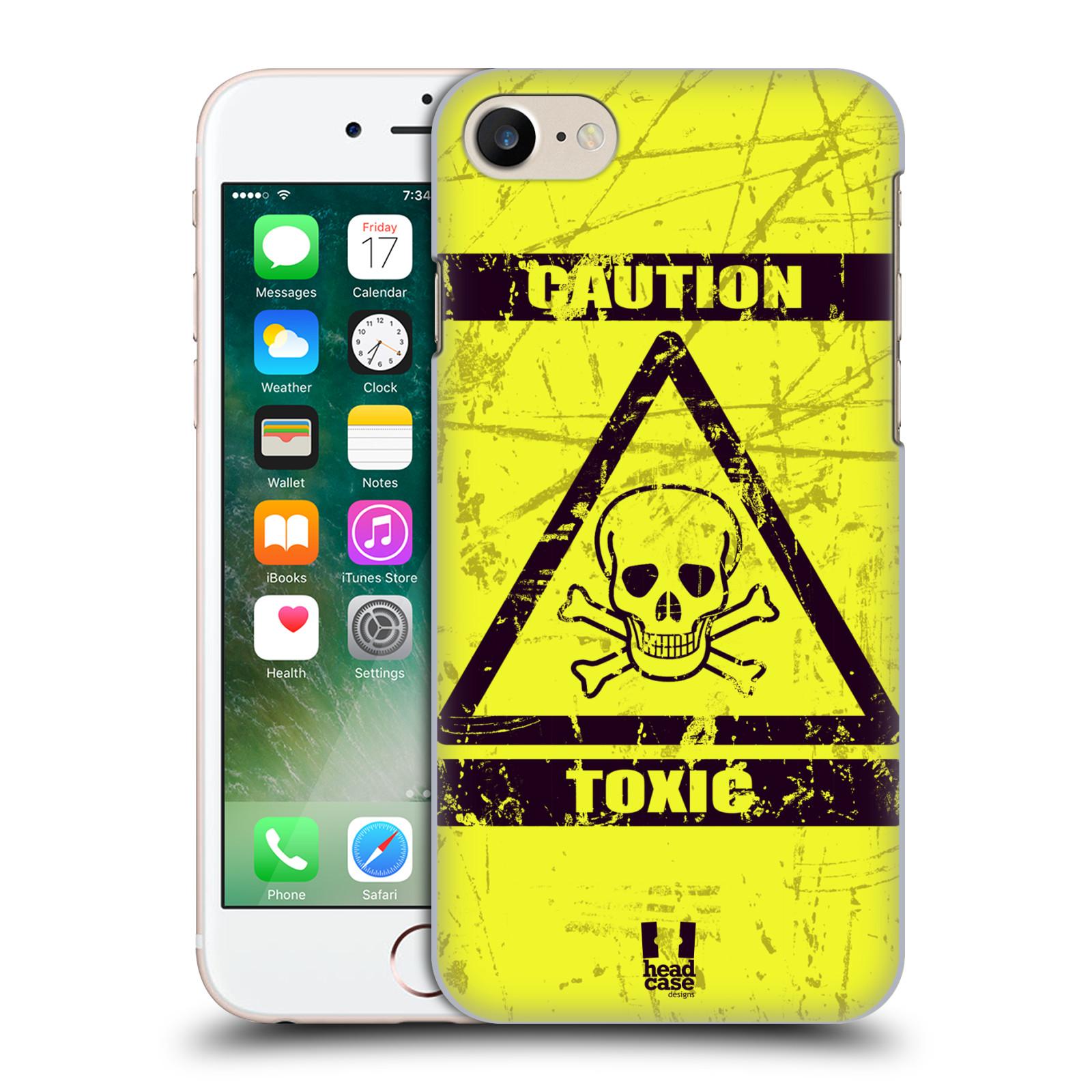 Plastové pouzdro na mobil Apple iPhone 7 HEAD CASE TOXIC