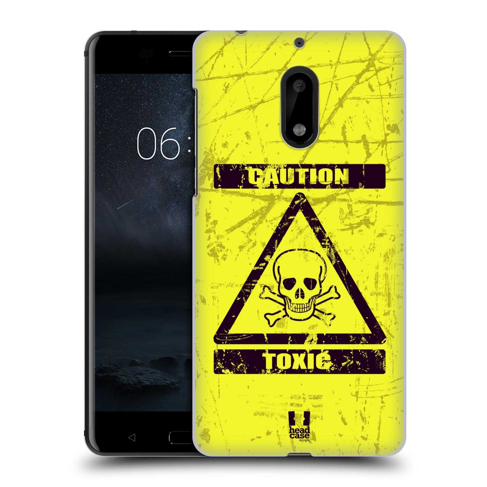 Plastové pouzdro na mobil Nokia 6 - Head Case TOXIC (Plastový kryt či obal na mobilní telefon Nokia 6 (Dual SIM))