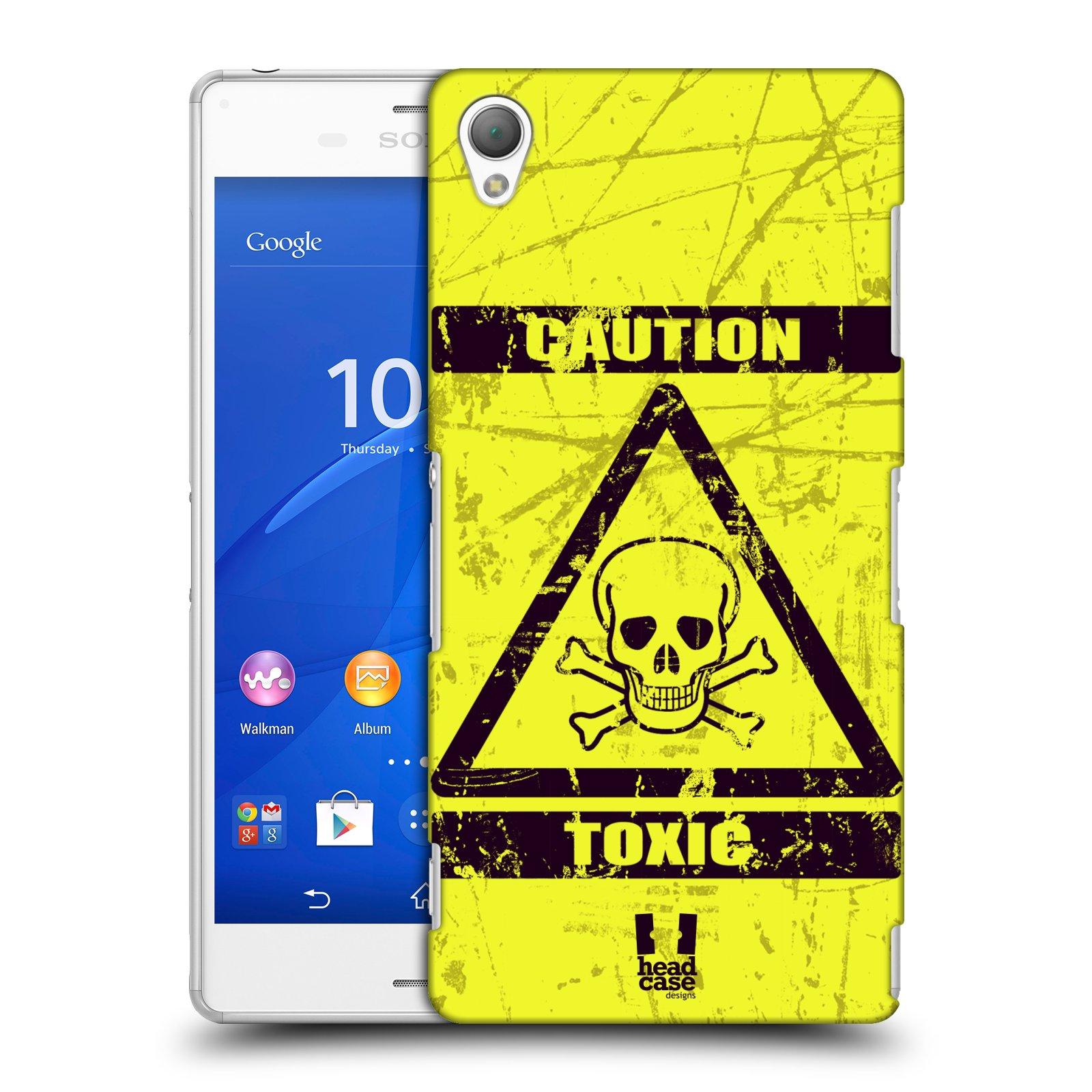 Plastové pouzdro na mobil Sony Xperia Z3 D6603 HEAD CASE TOXIC (Kryt či obal na mobilní telefon Sony Xperia Z3 )