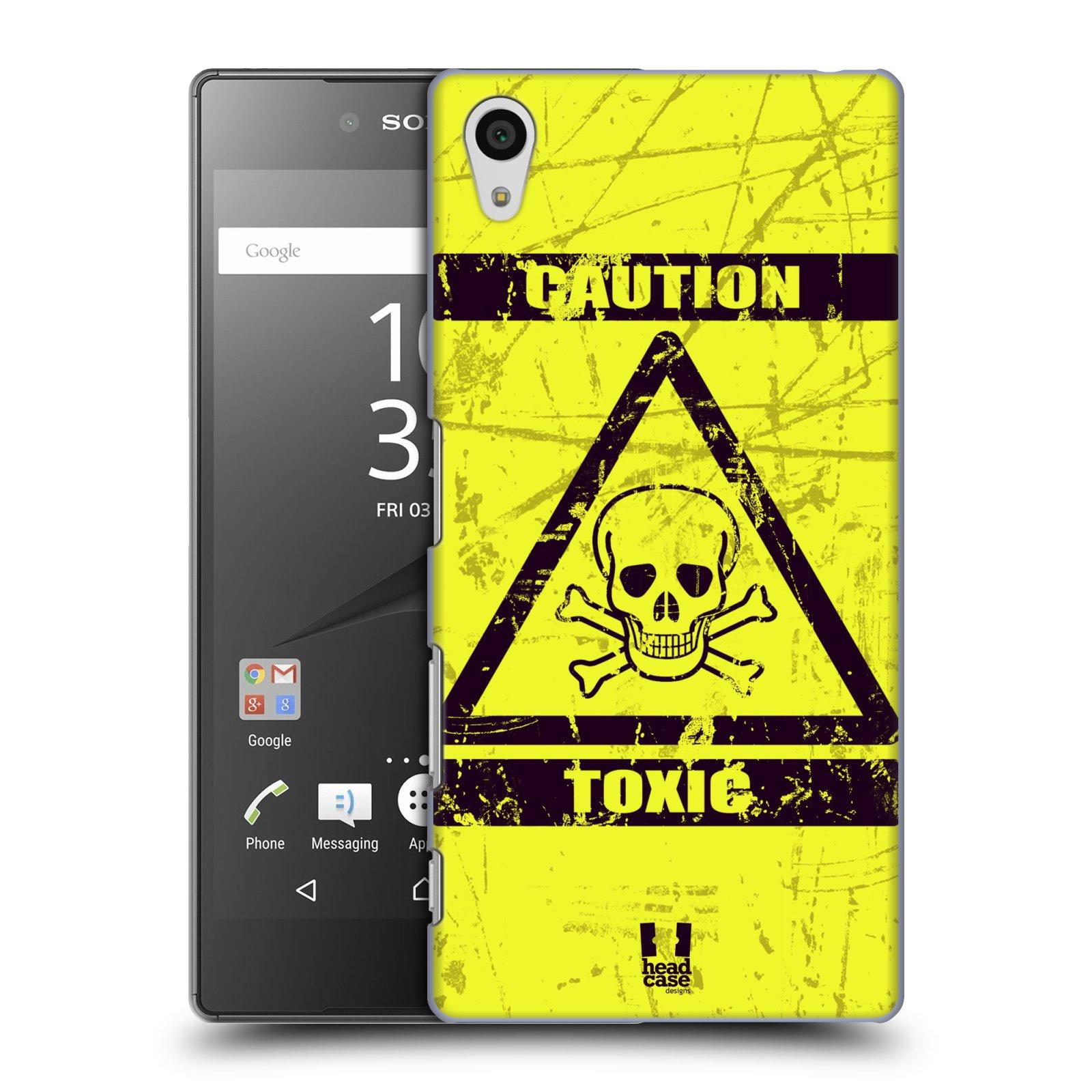 Plastové pouzdro na mobil Sony Xperia Z5 HEAD CASE TOXIC (Kryt či obal na mobilní telefon Sony Xperia Z5 E6653)