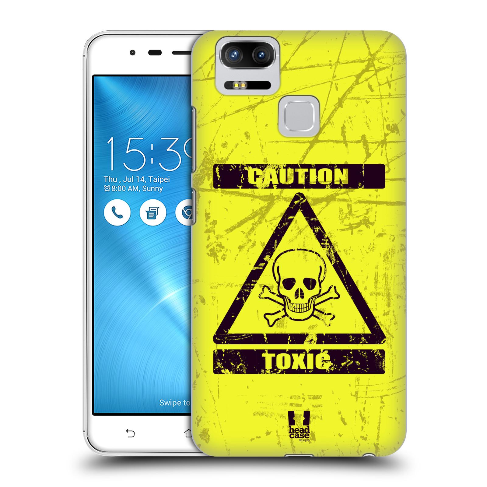 Plastové pouzdro na mobil Asus ZenFone 3 ZOOM ZE553KL - Head Case - TOXIC (Plastový kryt či obal na mobilní telefon Asus ZenFone 3 ZOOM ZE553KL s motivem TOXIC)