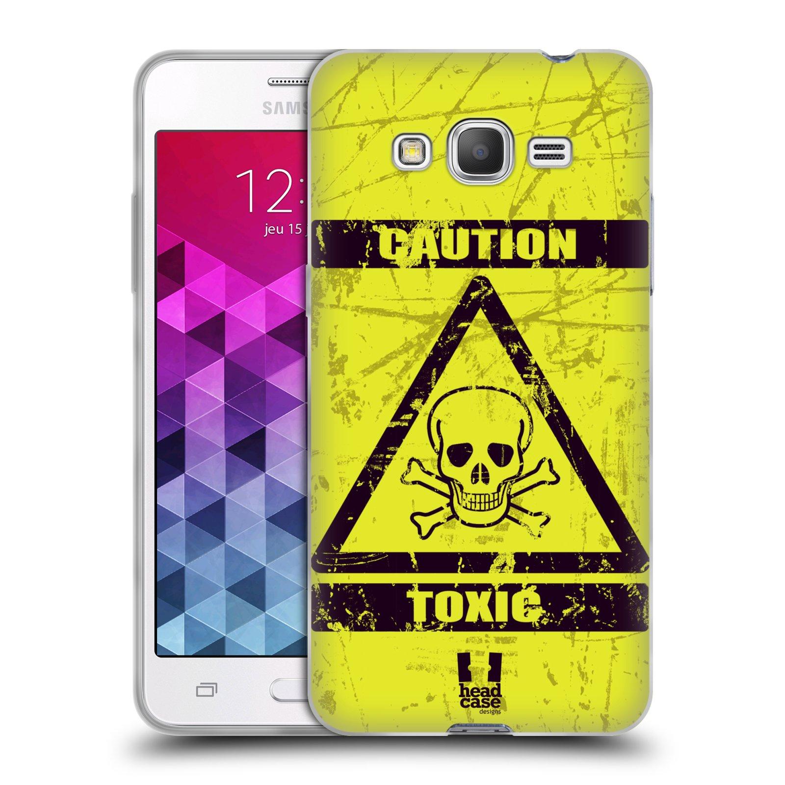 Silikonové pouzdro na mobil Samsung Galaxy Grand Prime HEAD CASE TOXIC