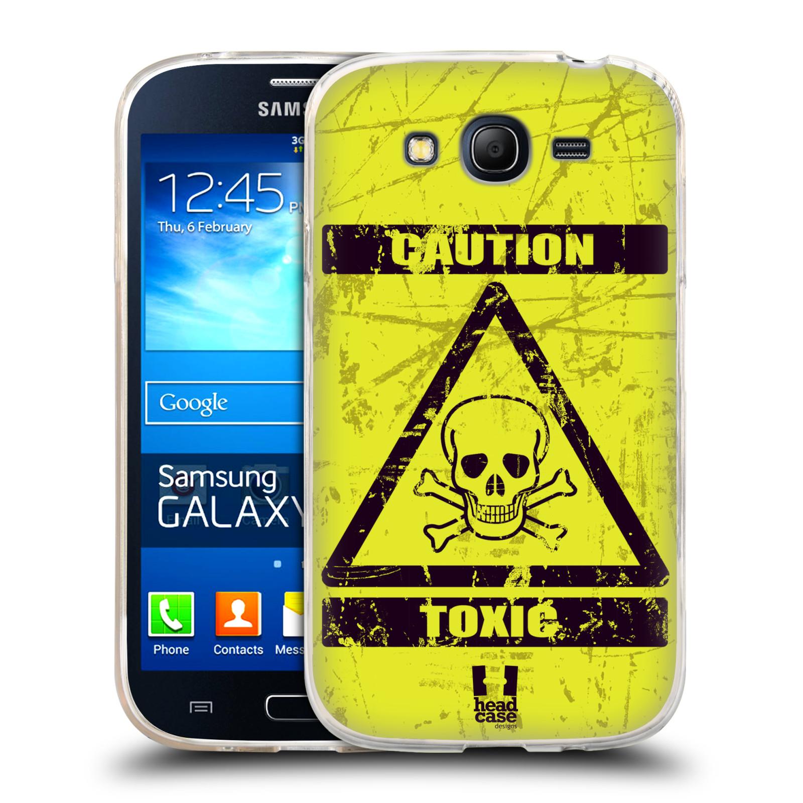 Silikonové pouzdro na mobil Samsung Galaxy Grand Neo Plus HEAD CASE TOXIC (Silikonový kryt či obal na mobilní telefon Samsung Galaxy Grand Neo Plus Duos GT-I9060i)