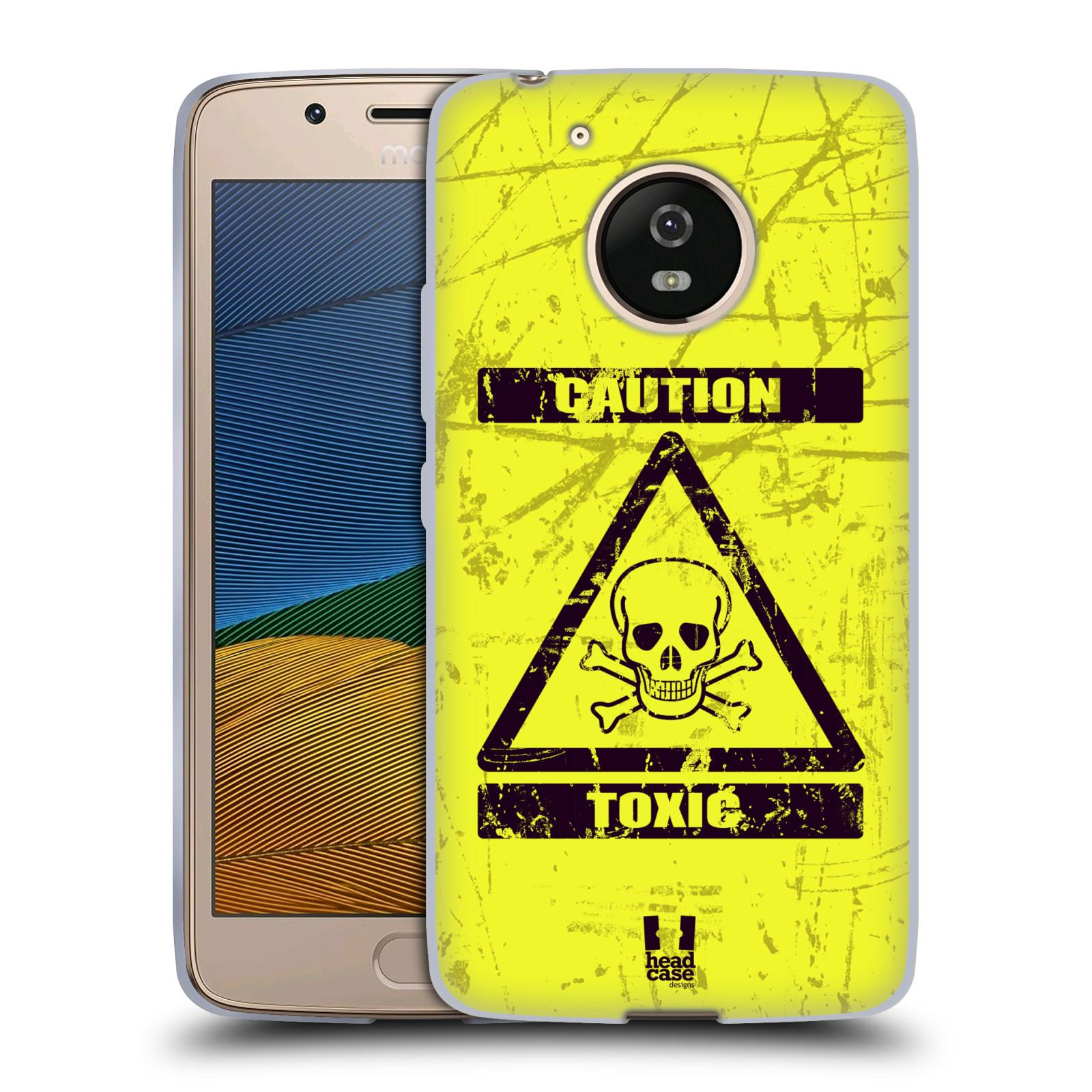 Silikonové pouzdro na mobil Lenovo Moto G5 - Head Case TOXIC (Silikonový kryt či obal na mobilní telefon Lenovo Moto G5)