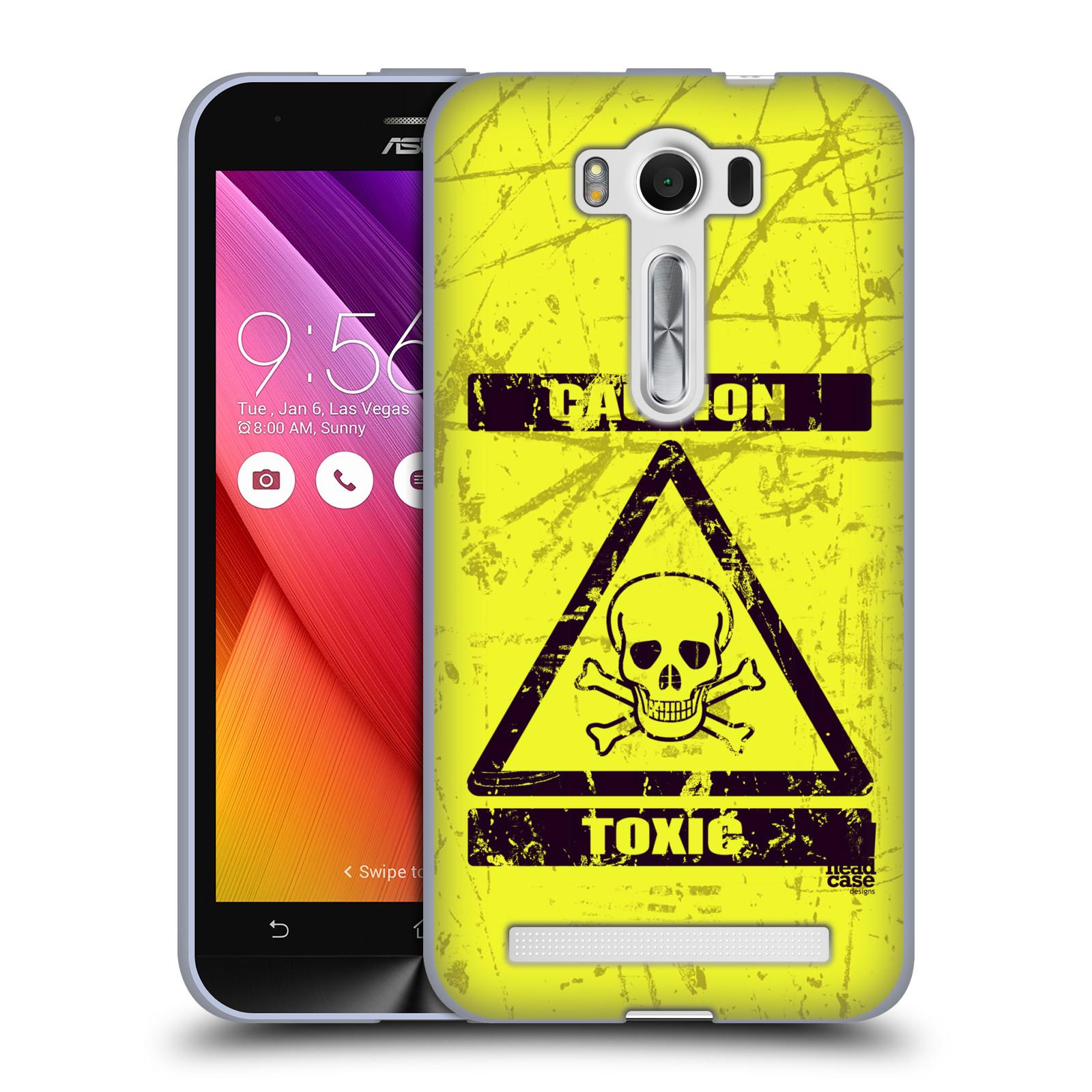 """Silikonové pouzdro na mobil Asus ZenFone 2 Laser ZE500KL HEAD CASE TOXIC (Silikonový kryt či obal na mobilní telefon Asus ZenFone 2 Laser ZE500KL s 5"""" displejem)"""